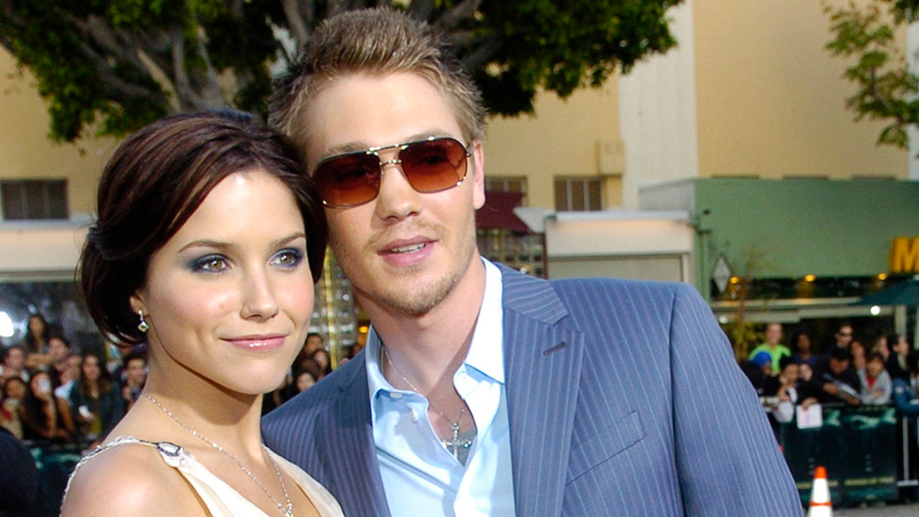 "Chad Michael Murray has responded to his ex-wife's comments about feeling pressured to marrying her former ""One Tree Hill"" co-star back in 2005."