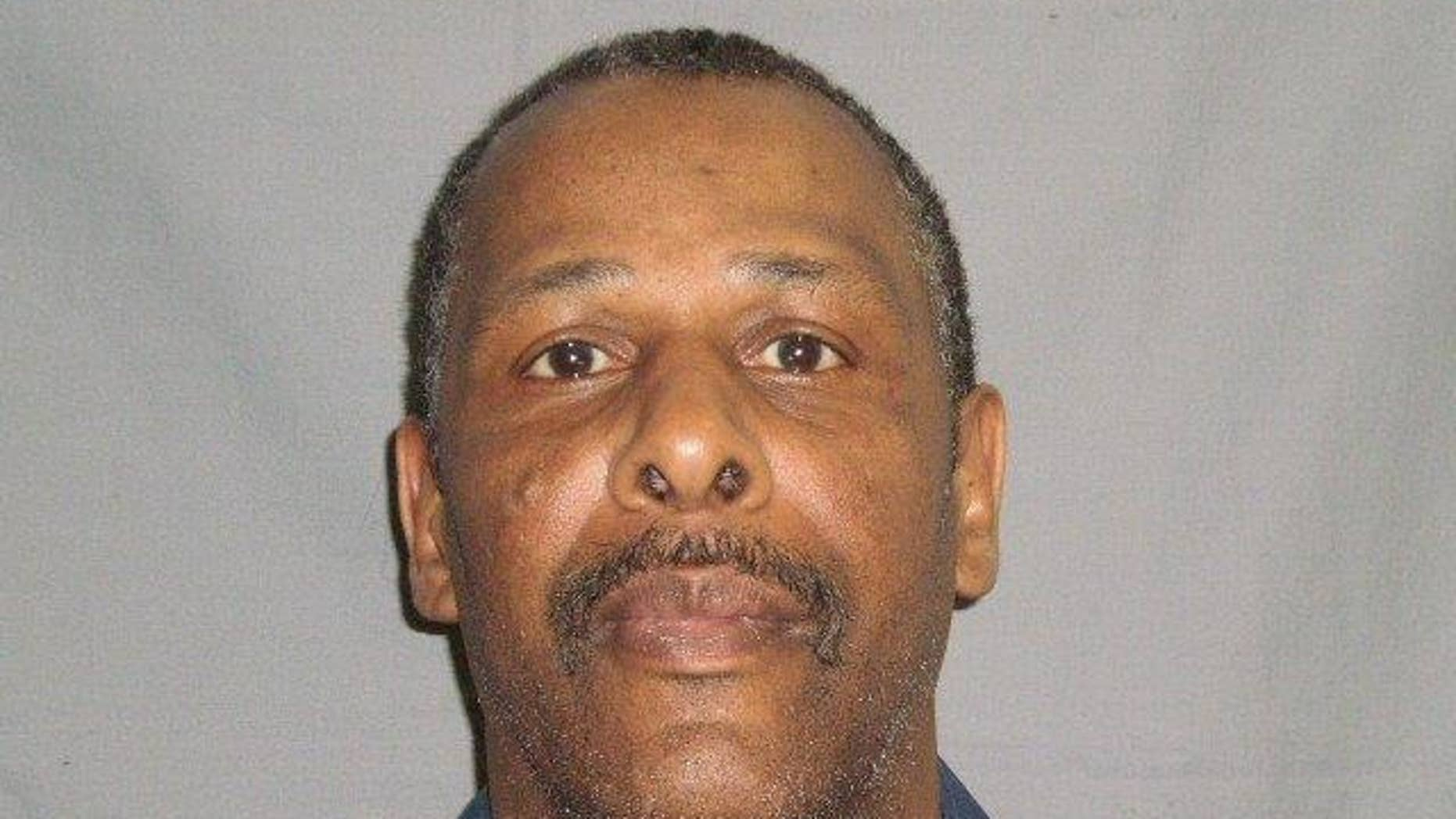 This photo provided by the Michigan Department of Corrections shows Leon Means. Means was charged Wednesday, Oct. 15, 2014, with killing four women in western Michigan — two this week and his wife and her mother after a prison escape in 1989. (AP Photo/Michigan Department of Corrections)