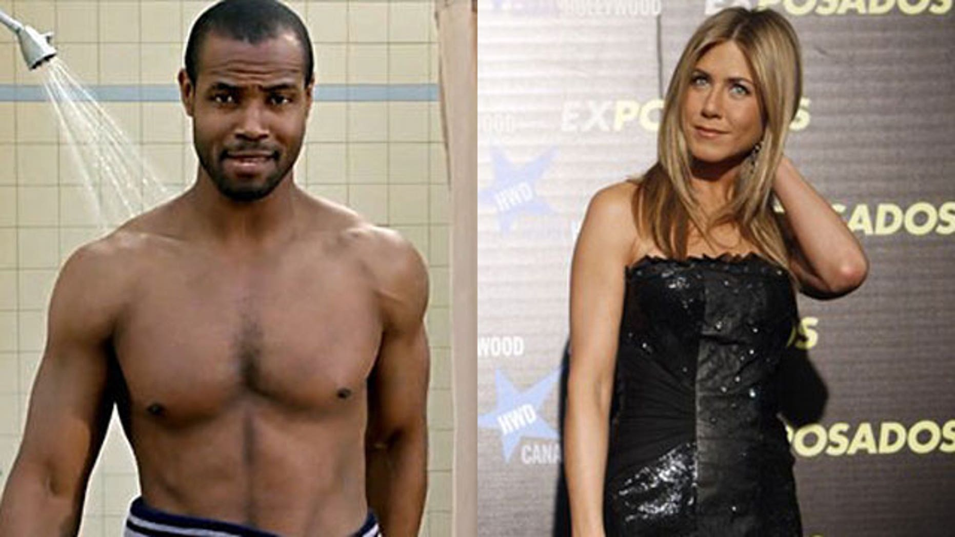 The 'Old Spice Guy' Isaiah Mustafa has earned a spot in an upcoming Jennifer Aniston film.
