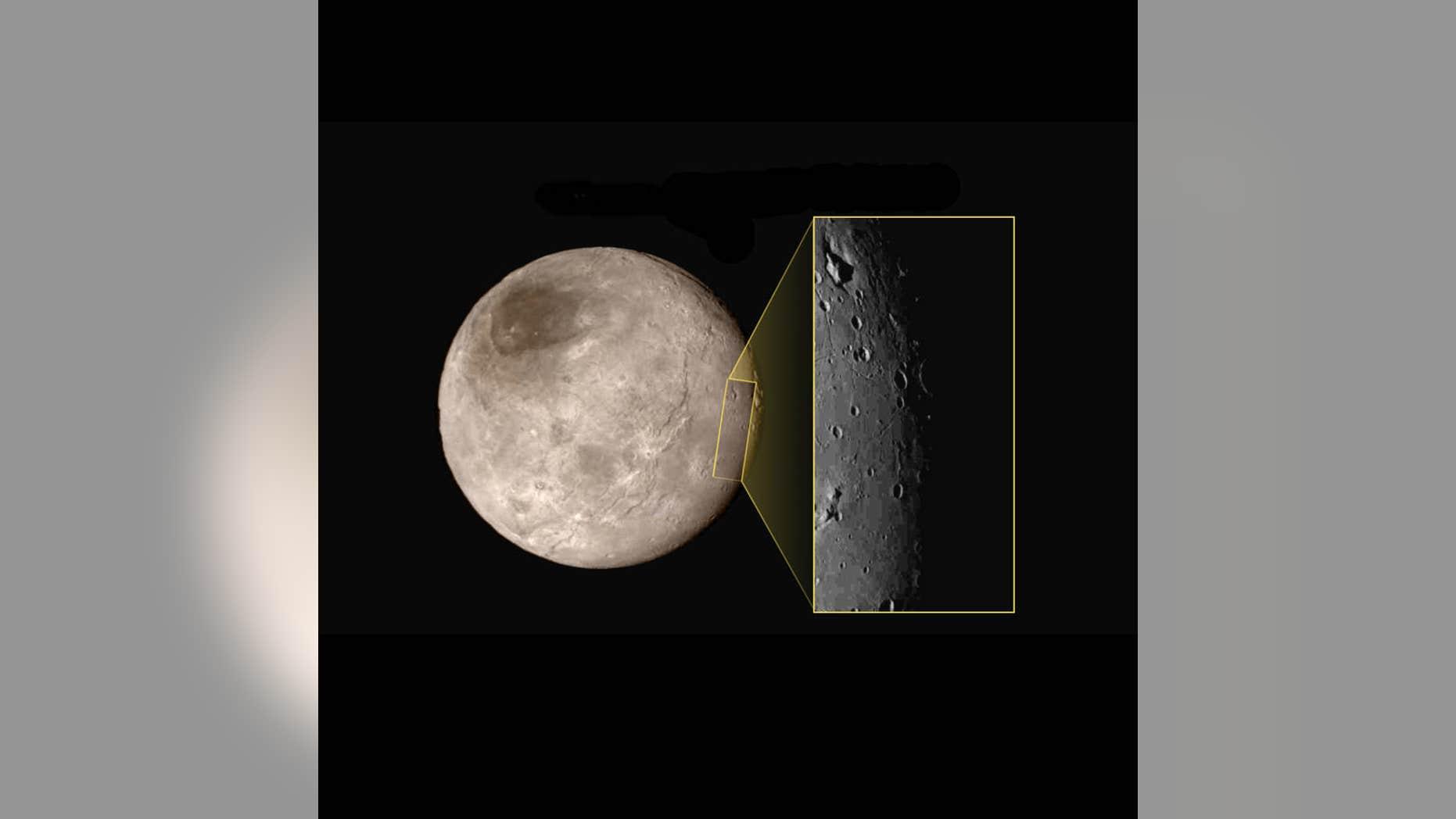 Charon Moon: NASA Releases Closeup Image Of Pluto's Moon Charon