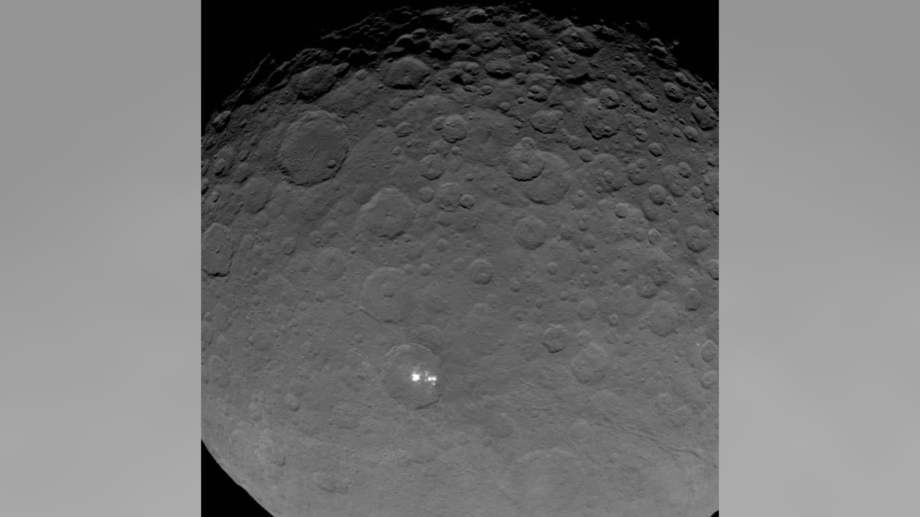 This image is part of a sequence taken by NASA's Dawn spacecraft May 16 2015.