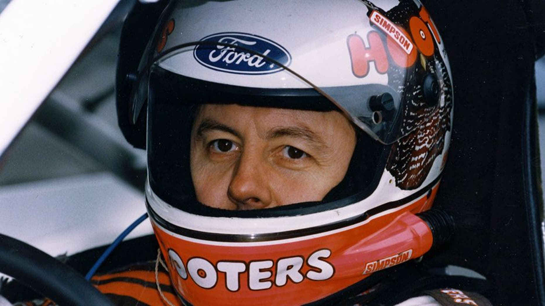 RICHMOND, VA ? 1992: Alan Kulwicki gets prepared for the start of a NASCAR Cup race at Richmond International Raceway. Kulwicki went on to claim the season Cup championship behind the wheel of his own Hooters-sponsored Ford Thunderbirds. (Photo by ISC Images & Archives via Getty Images)