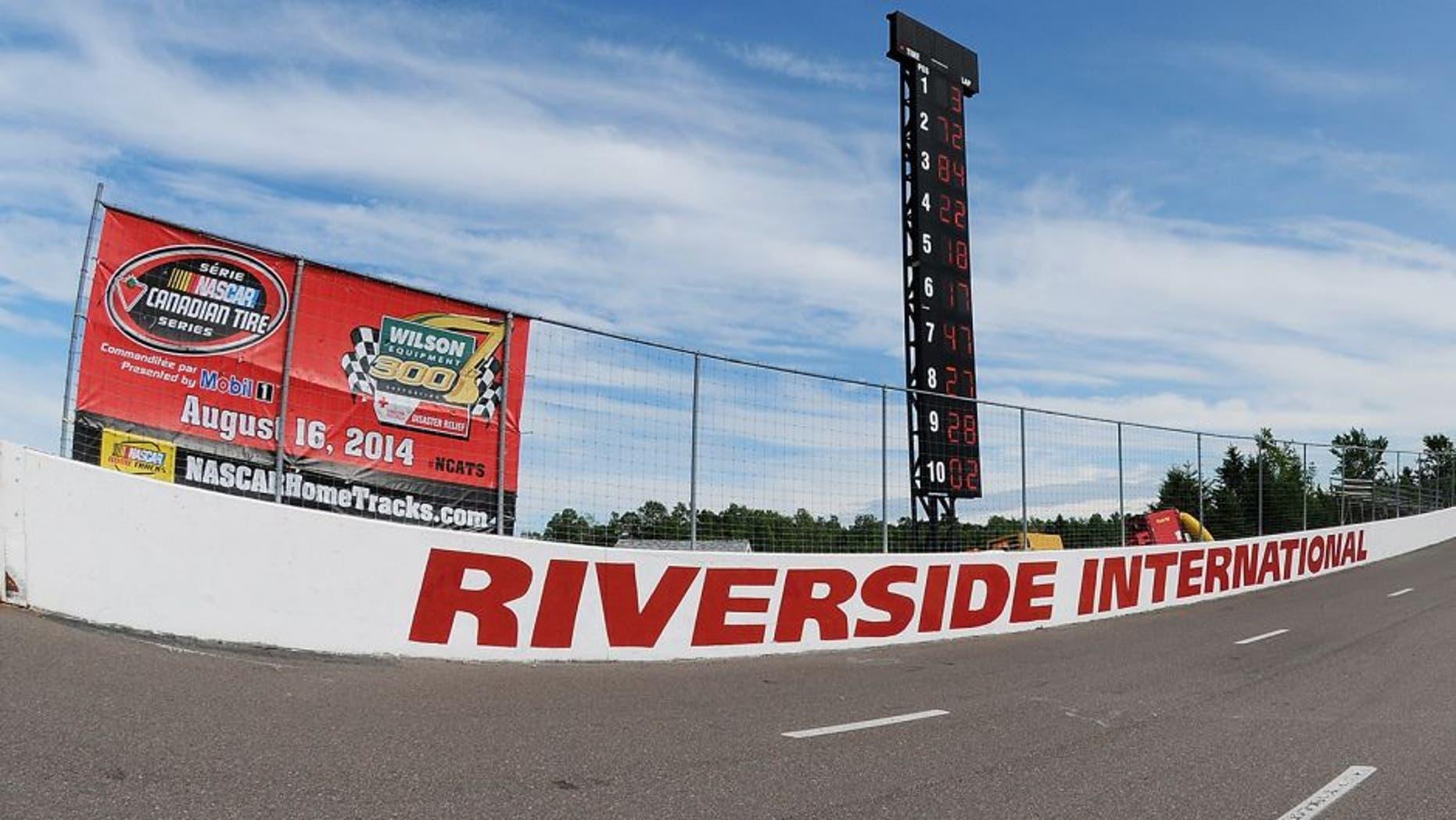 ANTIGONISH, NS - AUGUST 16: The Wilson Equipment 300 at Riverside International Speedway on August 16, 2014 in Antigonish, Nova Scotia, Canada. (Photo by Matthew Murnaghan/NASCAR via Getty Images)
