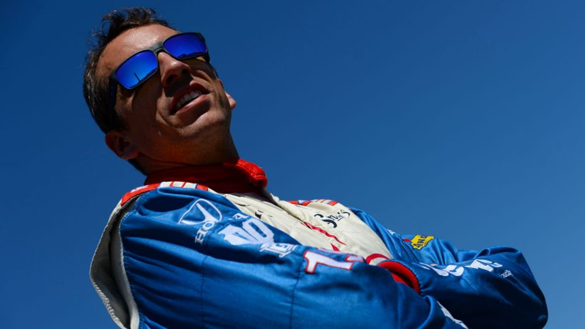FONTANA, CA - AUGUST 29: Justin Wilson of England driver of the #19 Dale Coyne Racing during qualifying for the Verizon IndyCar Series MAVTV 500 IndyCar World Championship Race at the Auto Club Speedway on August 29, 2014 in Fontana, California. (Photo by Robert Laberge/Getty Images)