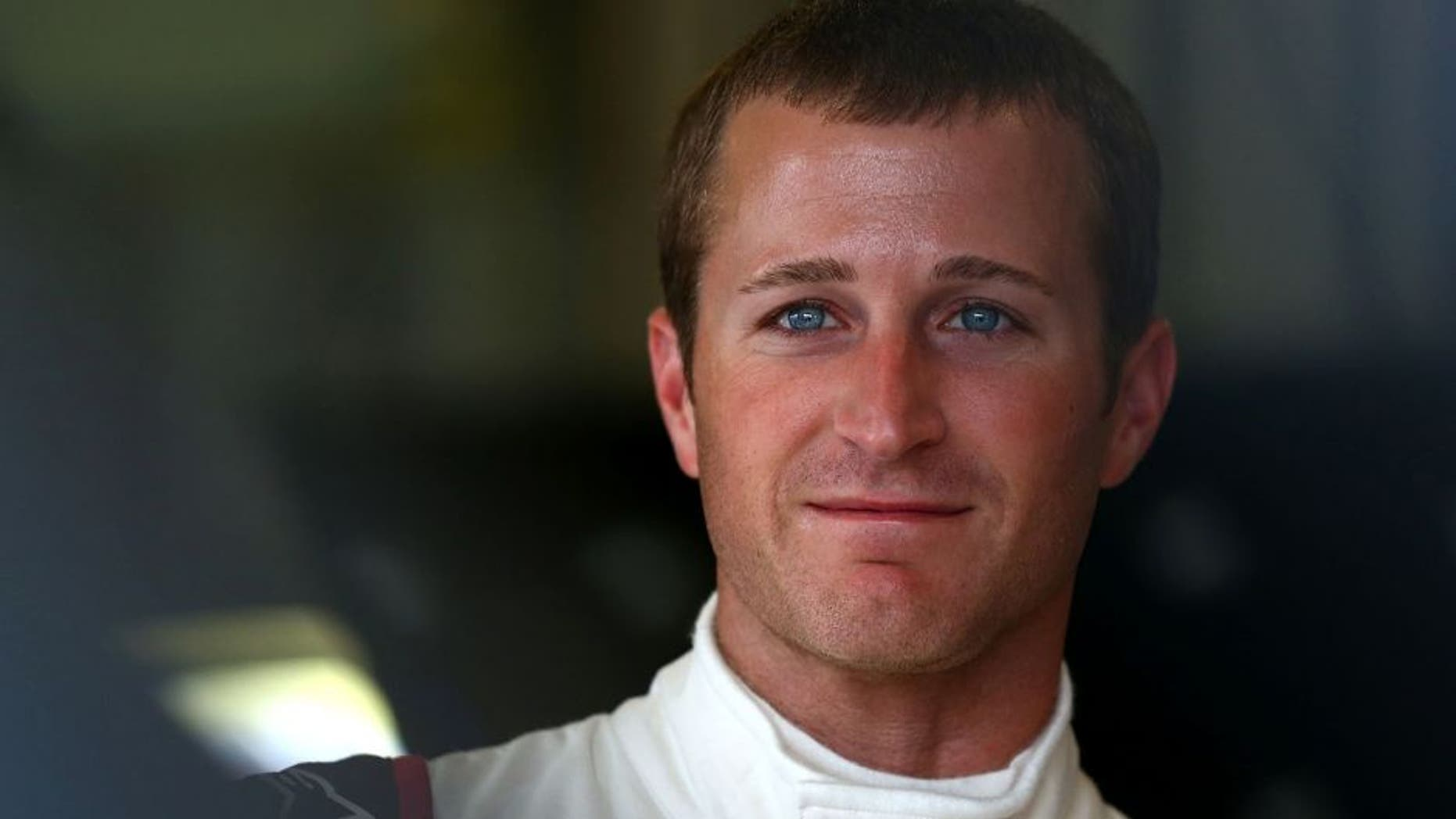 SPARTA, KY - JULY 08: Kasey Kahne, driver of the #5 Liftmaster Chevrolet, looks on before the NASCAR Sprint Cup Series Test at Kentucky Speedway on July 8, 2015 in Sparta, Kentucky. (Photo by Sarah Crabill/NASCAR via Getty Images)