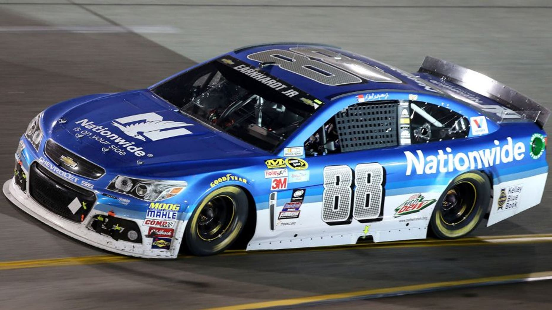 RICHMOND, VA - SEPTEMBER 12: Dale Earnhardt Jr., driver of the #88 Nationwide Chevrolet, races during the NASCAR Sprint Cup Series Federated Auto Parts 400 at Richmond International Raceway on September 12, 2015 in Richmond, Virginia. (Photo by Jerry Markland/Getty Images)