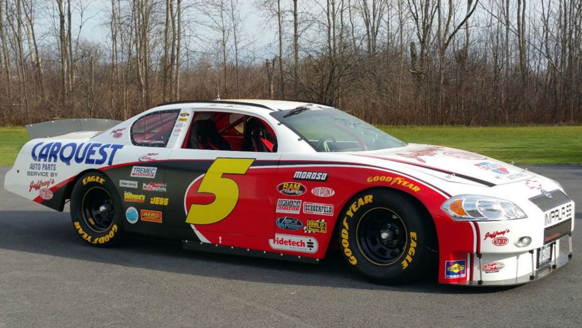This Mark Martin Tribute Stock Car Is Street Legal And For Sale