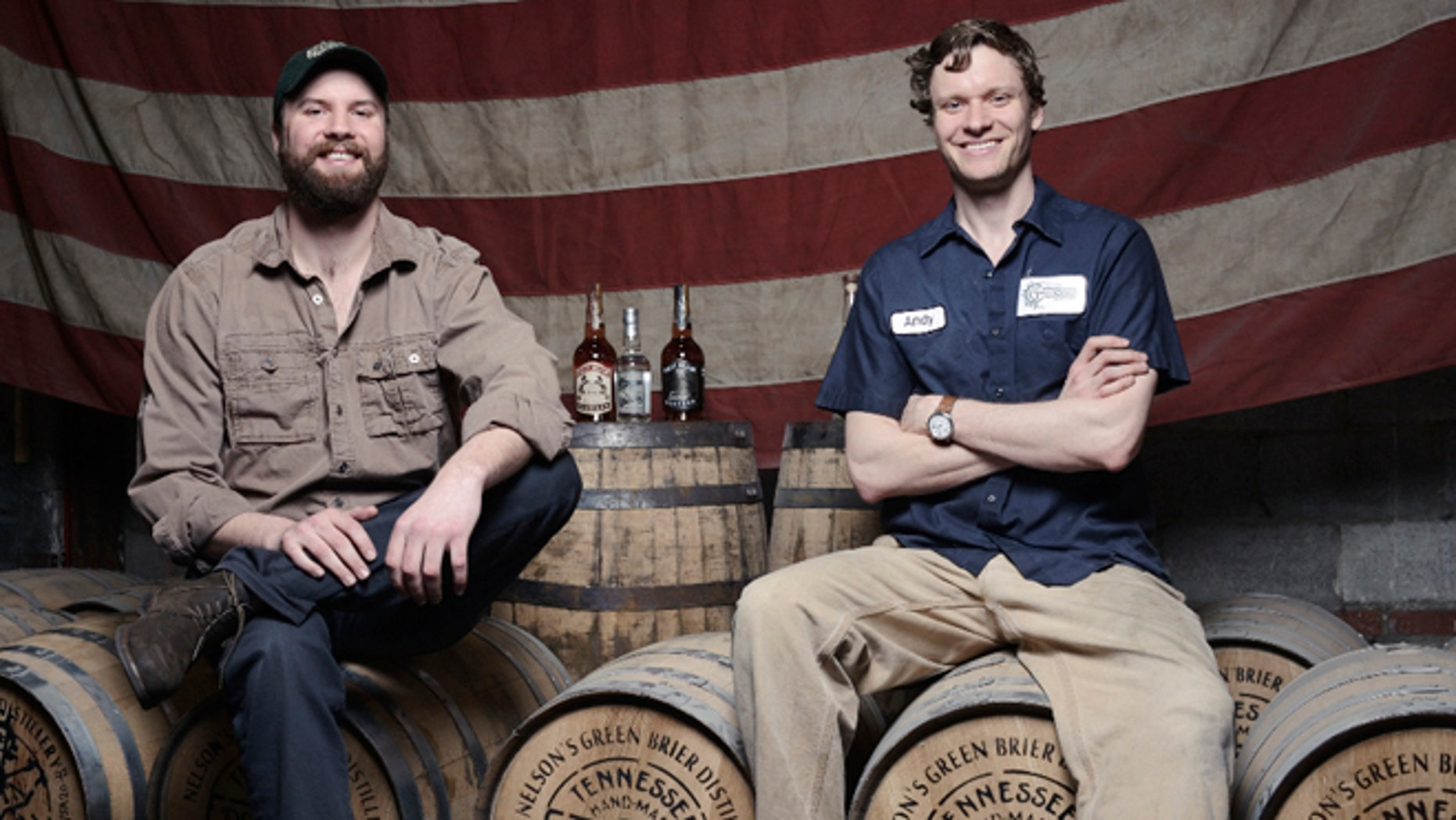 Charlie and Andy Nelson worked to revive the whiskey distillery of their great, great, great grandfather.
