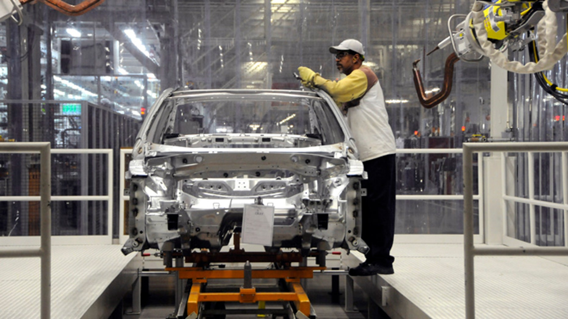 Employees at the Volkswagen plant in Chattanooga, Tenn., recently voted against union representation from United Auto Workers. (Reuters/Billy Weeks)