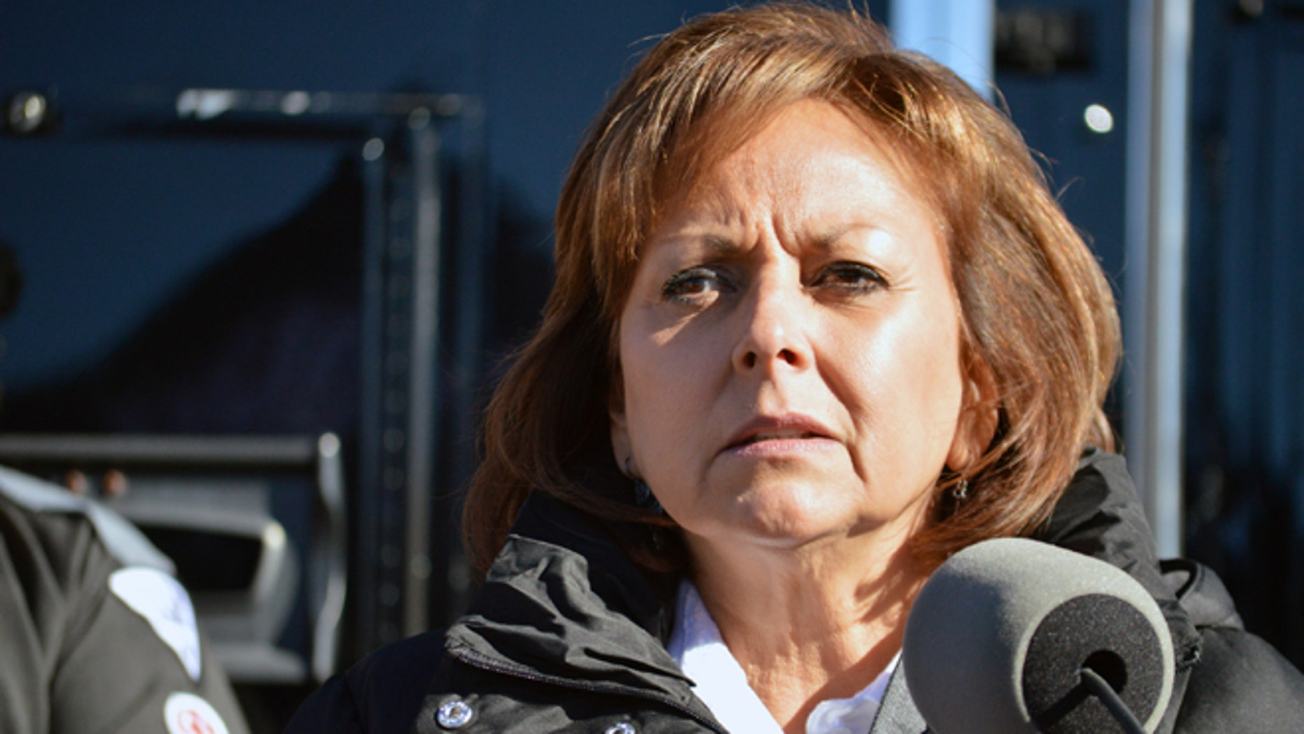 N.M. Gov. Susana Martinez during a news conference in Albuquerque, N.M. on Dec. 14, 2015.