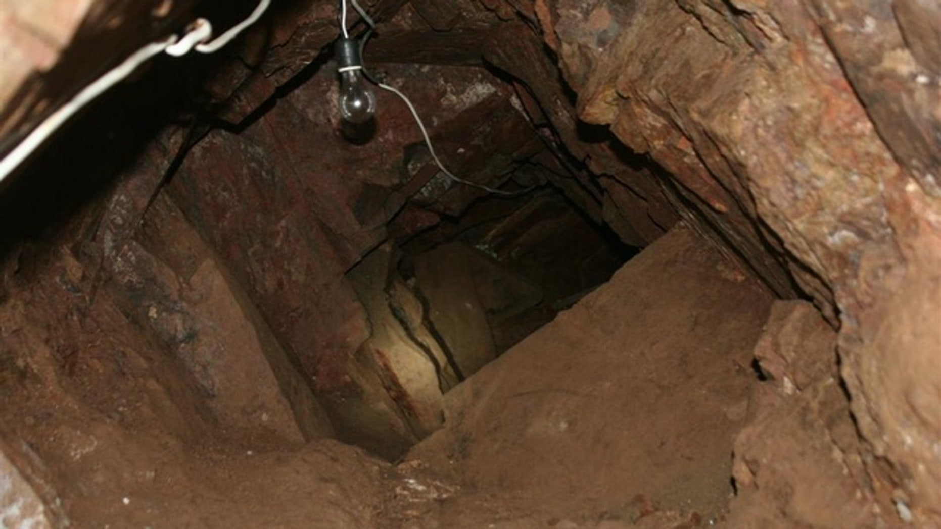 A 90-foot drug tunnel was discovered in Nogales, Ariz.