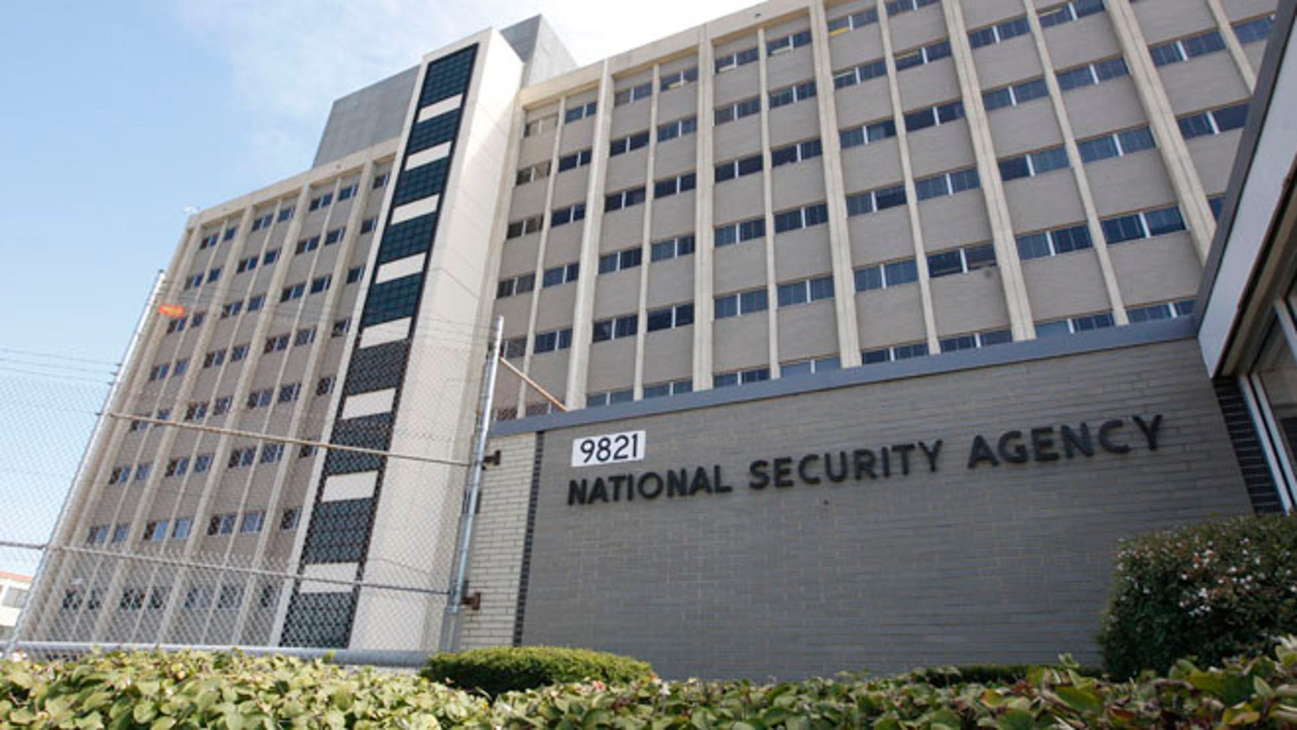 Sept. 19, 2007 file photo shows the National Security Agency building at Fort Meade, Md.