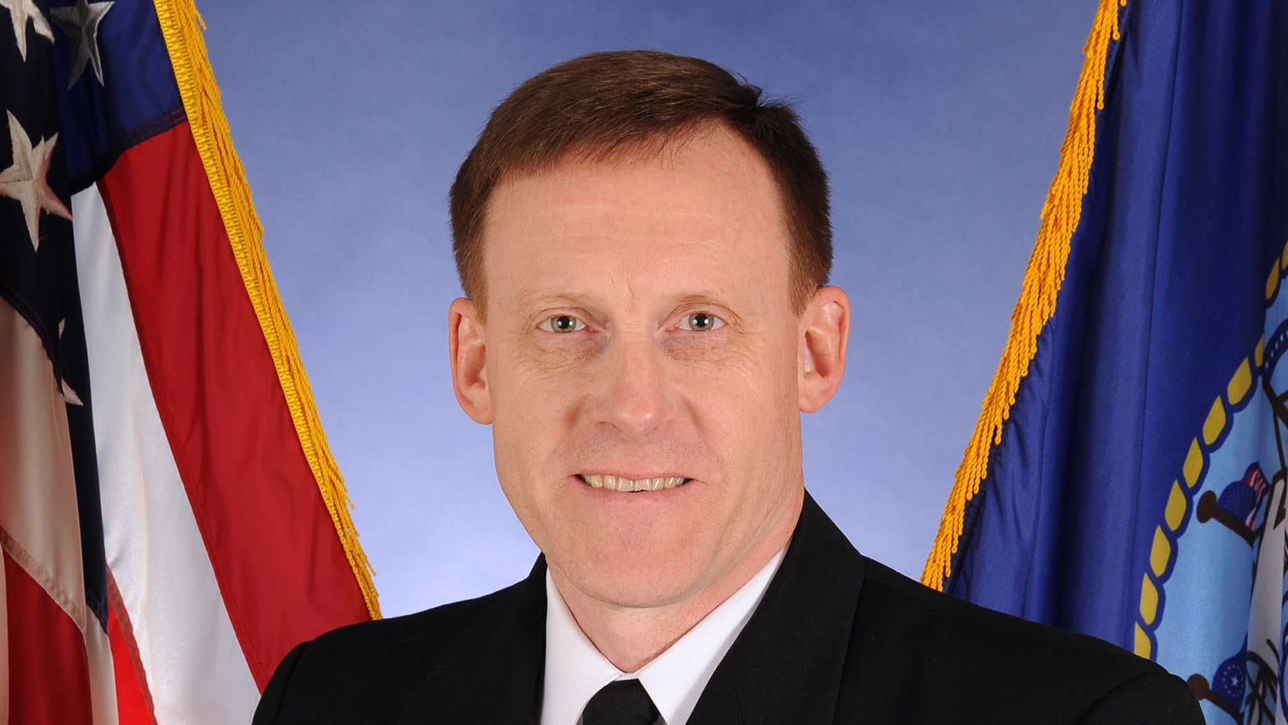 This photo provided by the U.S. Navy shows Vice Adm. Michael Rogers.