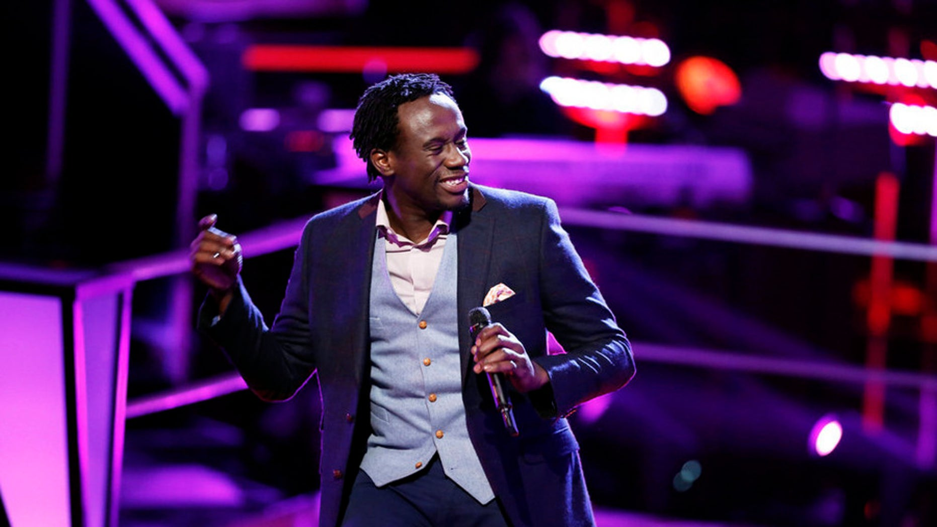 "Anthony Riley on ""The Voice."""