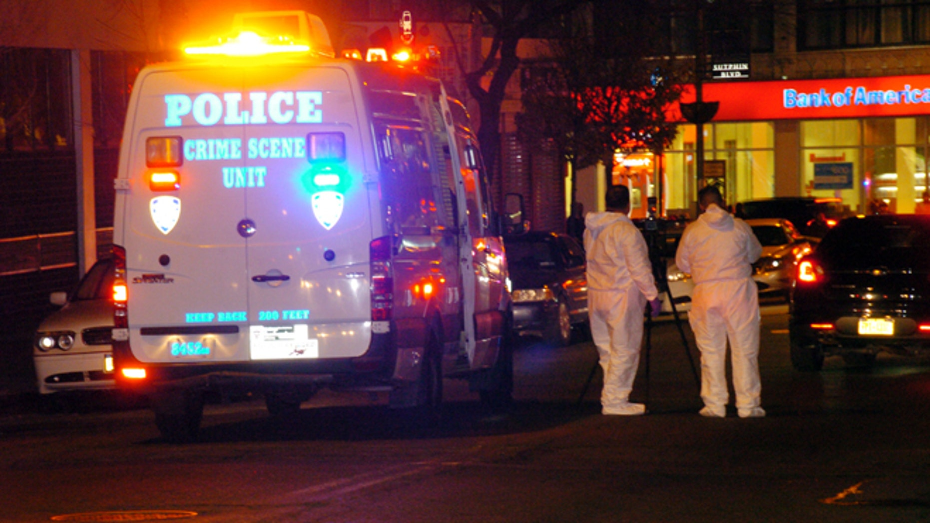 The bodies of a 1-year-old child, a 3-year-old child and a 21-year-old female were found in a Queens, N.Y., apartment on Sunday Jan. 19, 2013.