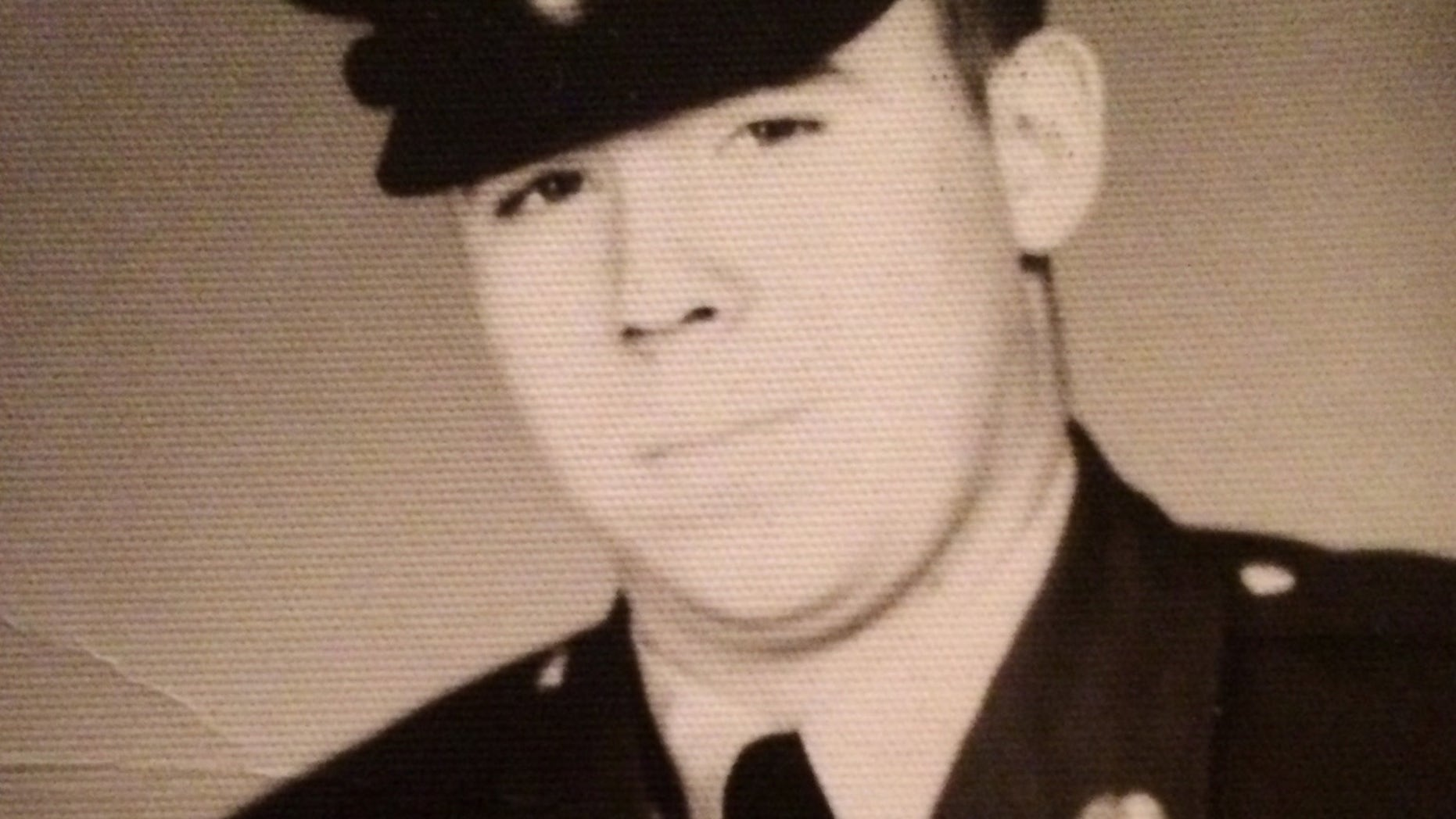 This undated photo provided by Robyn DeCuffa shows her father, Pfc. Thomas McGraw. (AP/Courtesy of Robyn DeCuffa)