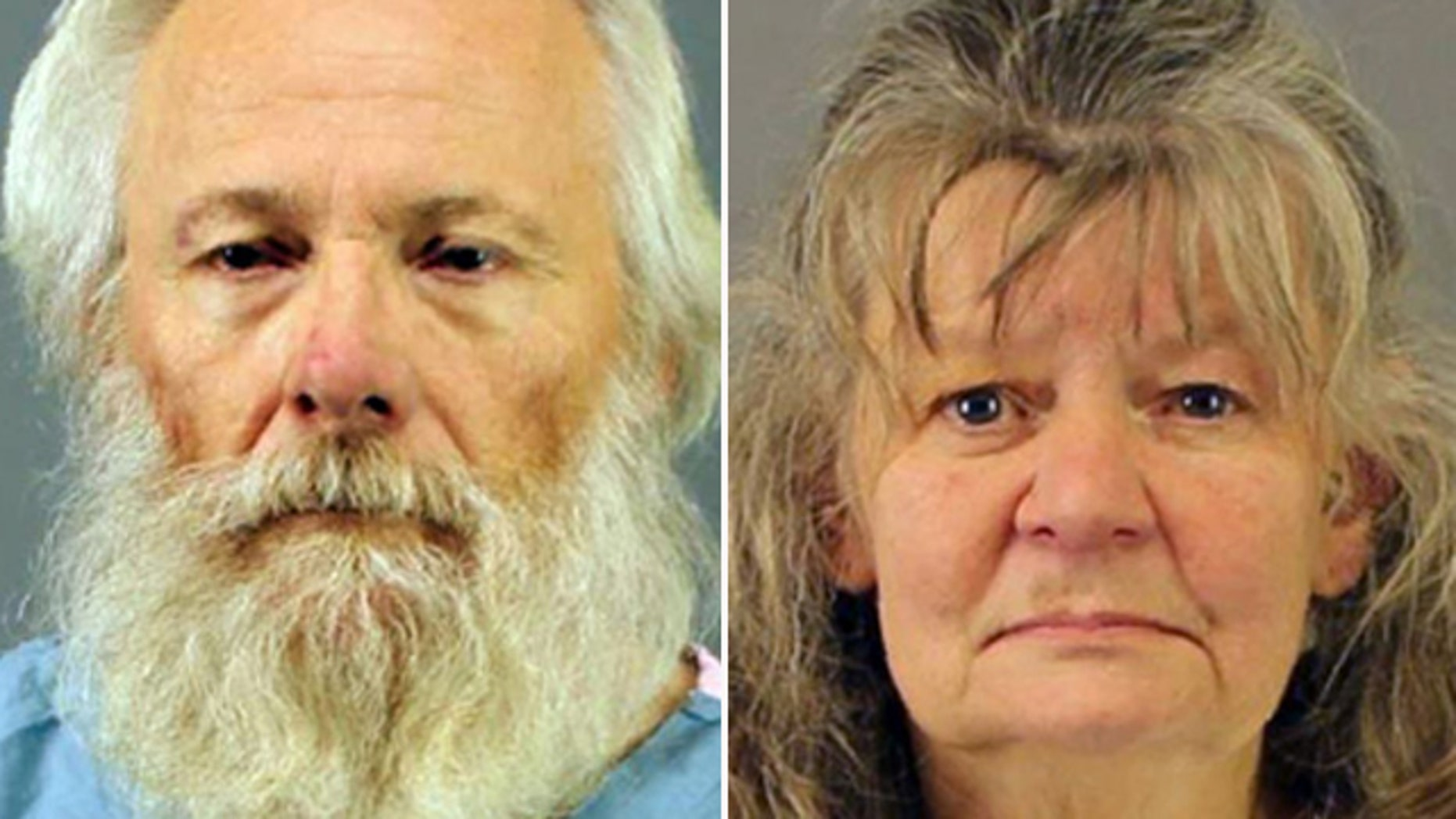 Oct. 13, 2015: These photos show Bruce and Deborah Leonard, who have been charged with first-degree manslaughter in the beating death of their son in a New York state church. (New Hartford Police Department)