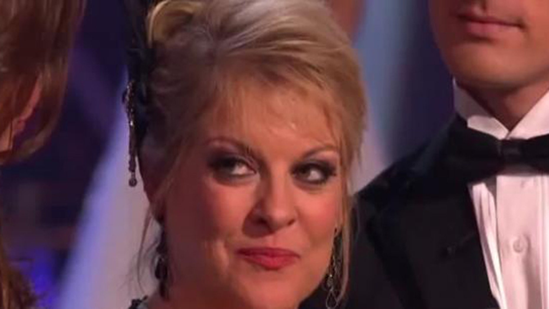 "Nov. 8, 2011: Nancy Grace gets eliminated on ""Dancing With the Stars"" Tuesday night in Los Angeles, Calif."