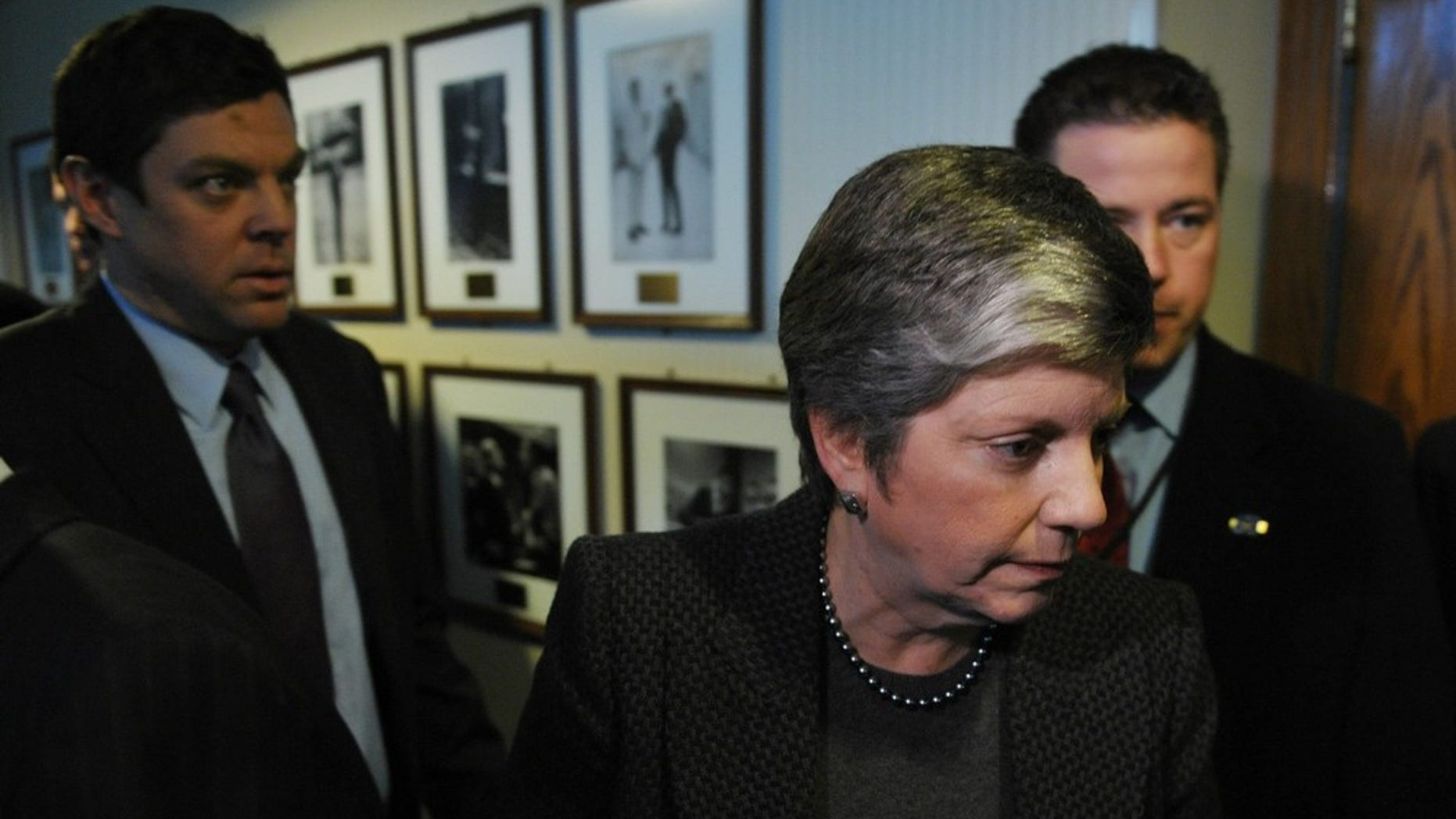 Homeland Security Secretary Janet Napolitano says pat-downs and body scanners are important security measures