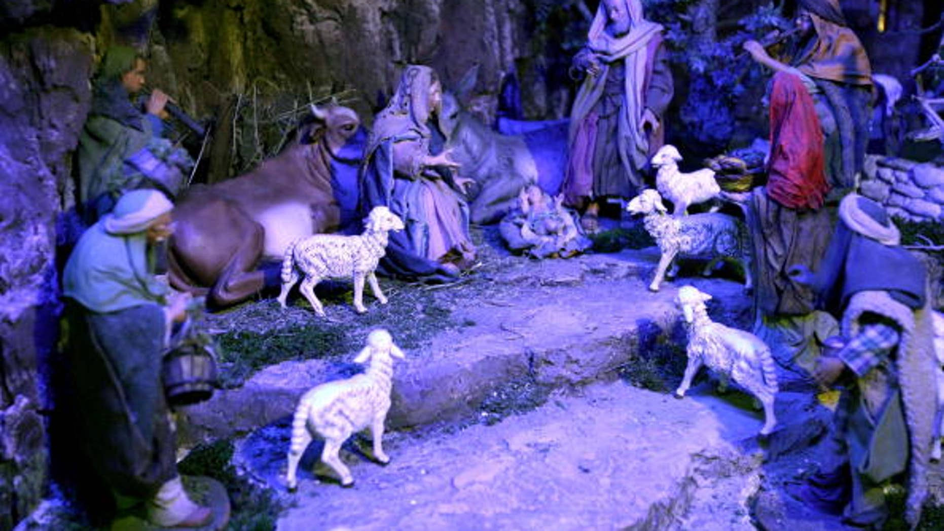 Andrés Vásquez and Felipe Cárdenas photographed their all-male nativity scene and posted the image on Facebook.