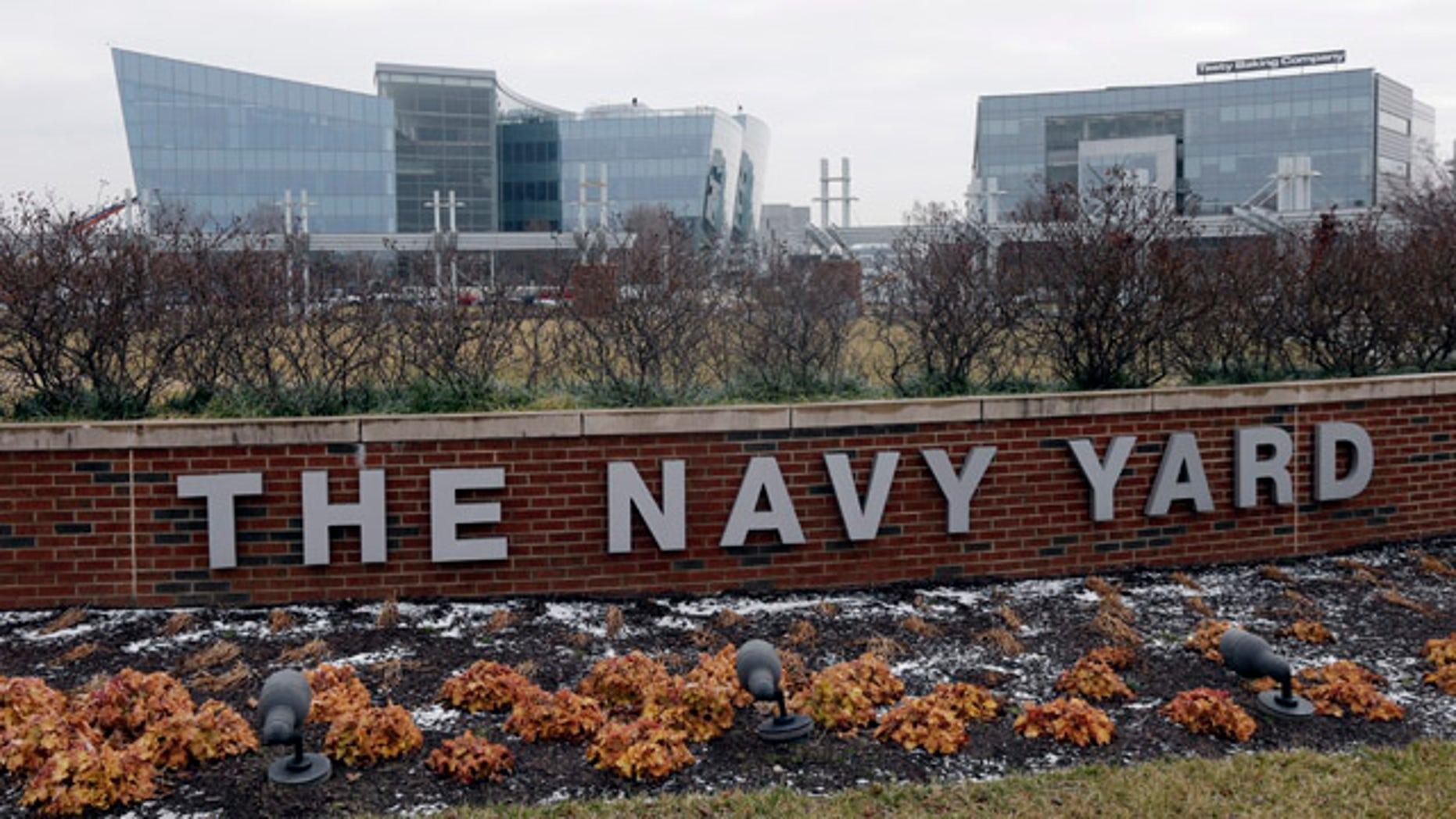 Feb. 6, 2013: The new GlaxoSmithKline building, top left, at the Navy Yard in Philadelphia.