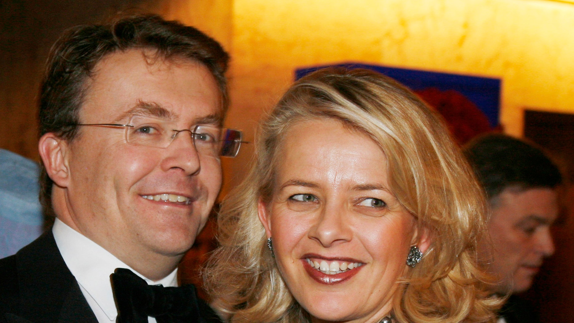 Dec. 10, 2008 - FILE photo of Dutch Prince Johan Friso and his wife Mabel, at a gala dinner at the Grand Hotel in Oslo, Norway. The Dutch royal house  on Monday Aug. 12, 2013 announced that Prince Johan Friso, injured in 2012 ski accident, has died.