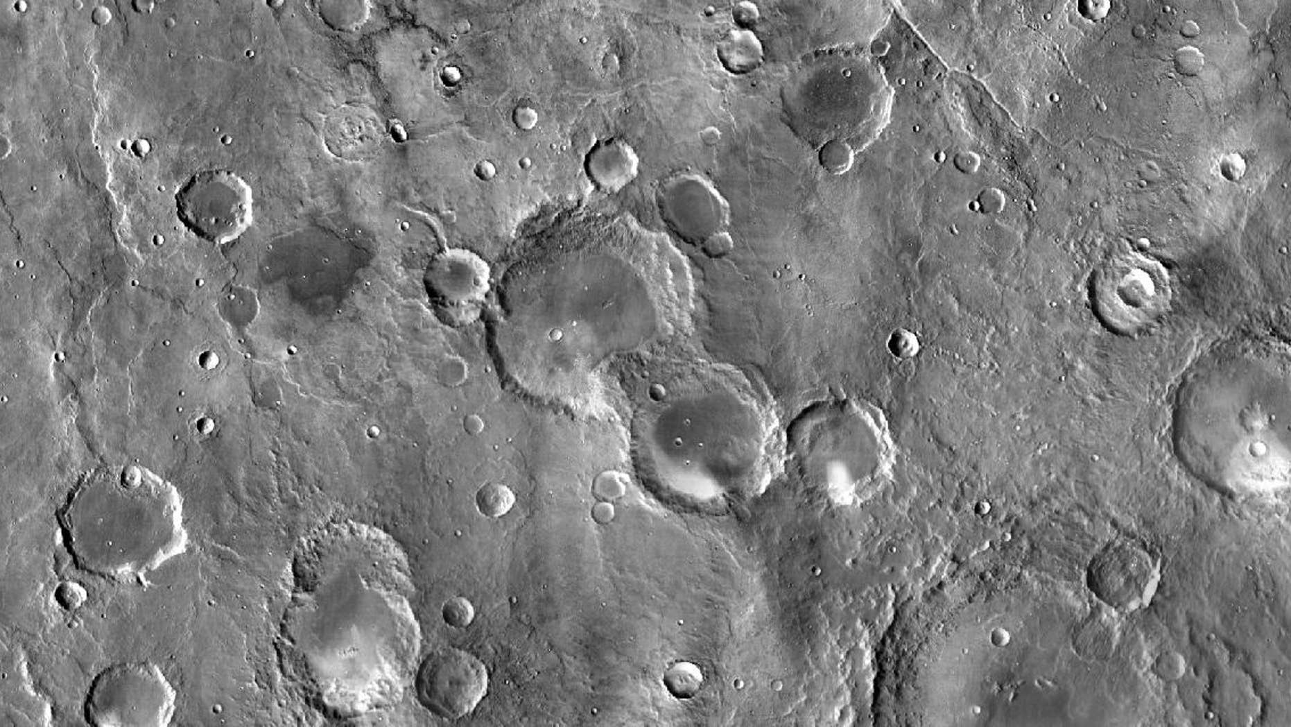 A camera from NASA's Mars Odyssey spacecraft captured nearly 21,000 images to compile the best-ever map of Mars.