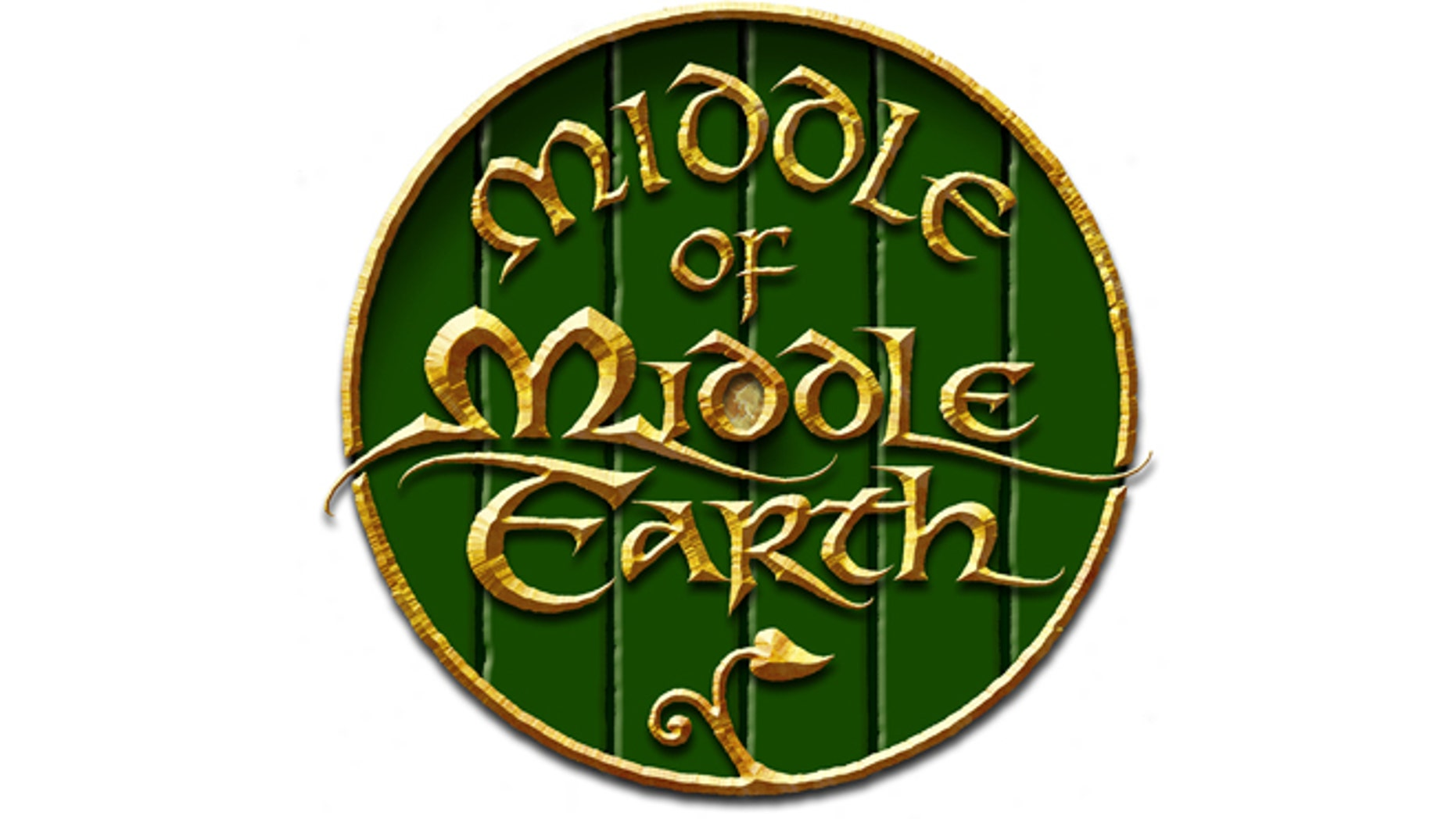 """A logo designed by Daniel Reeve, an artist who worked on the cartography and calligraphy for """"The Hobbit"""" trilogy."""