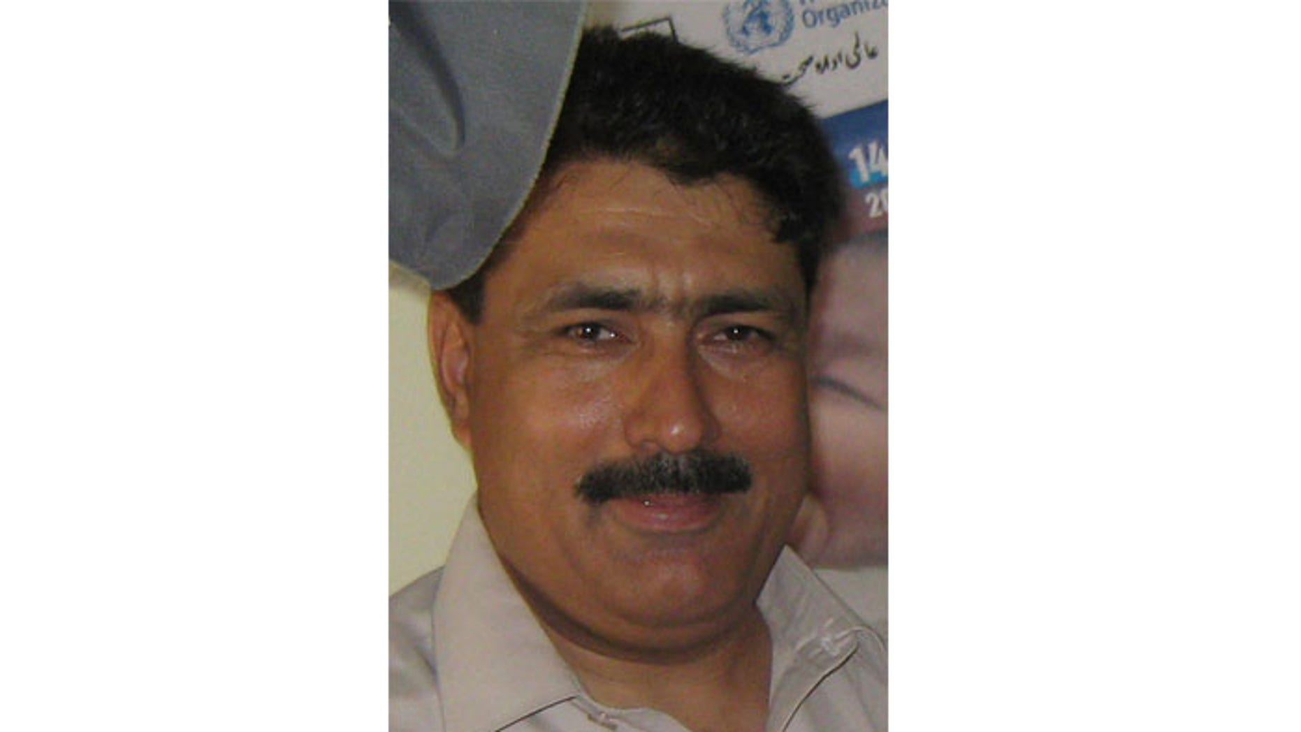 This photo taken on July 9, 2010 shows Pakistani doctor Shakil Afridi taken in Pakistani tribal area of Jamrud in Khyber region.
