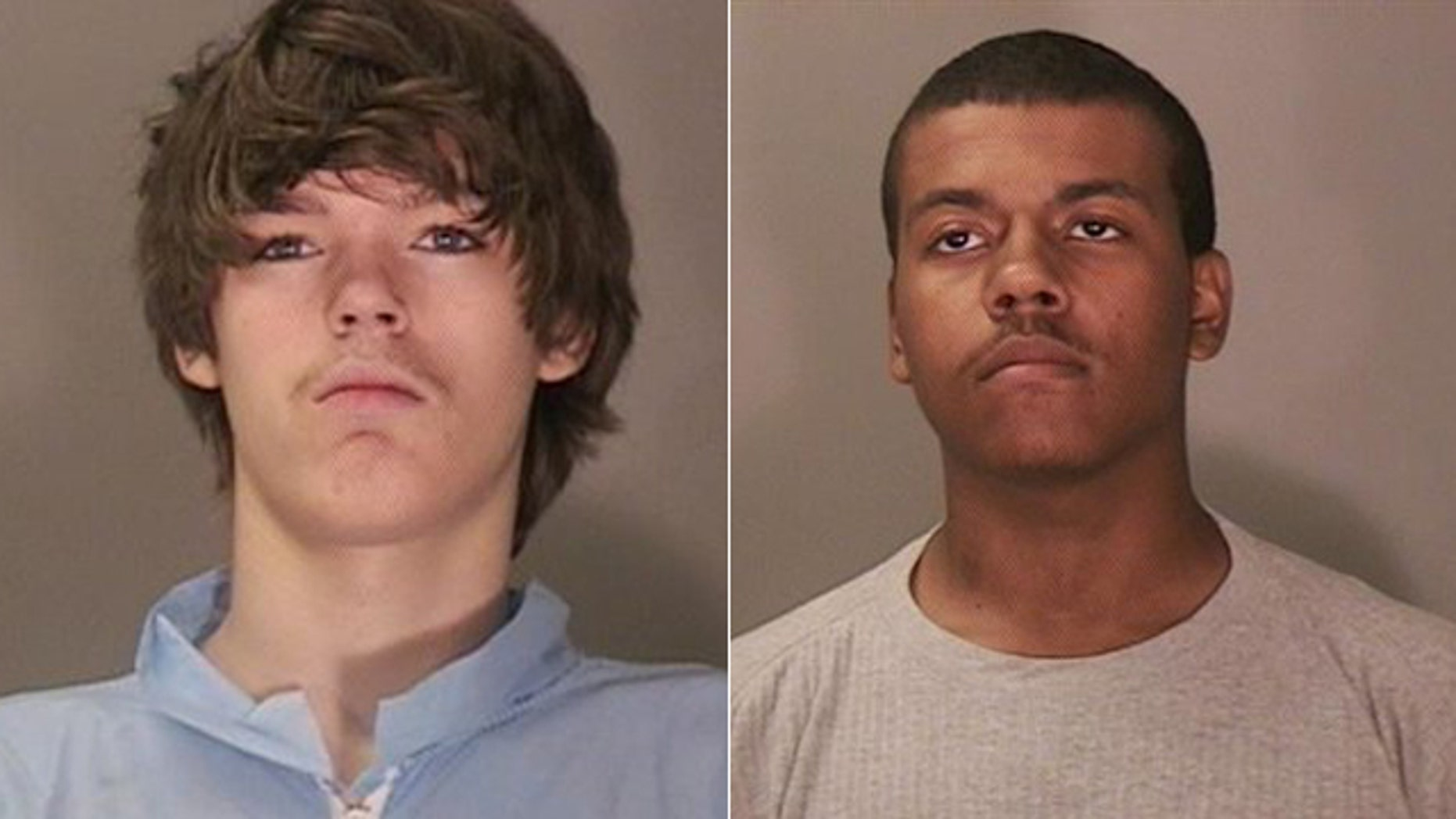 Aug. 27, 2012: These photos provided by the Niagara Falls Police Department  show John Freeman, left, and Tyler Best, 18.