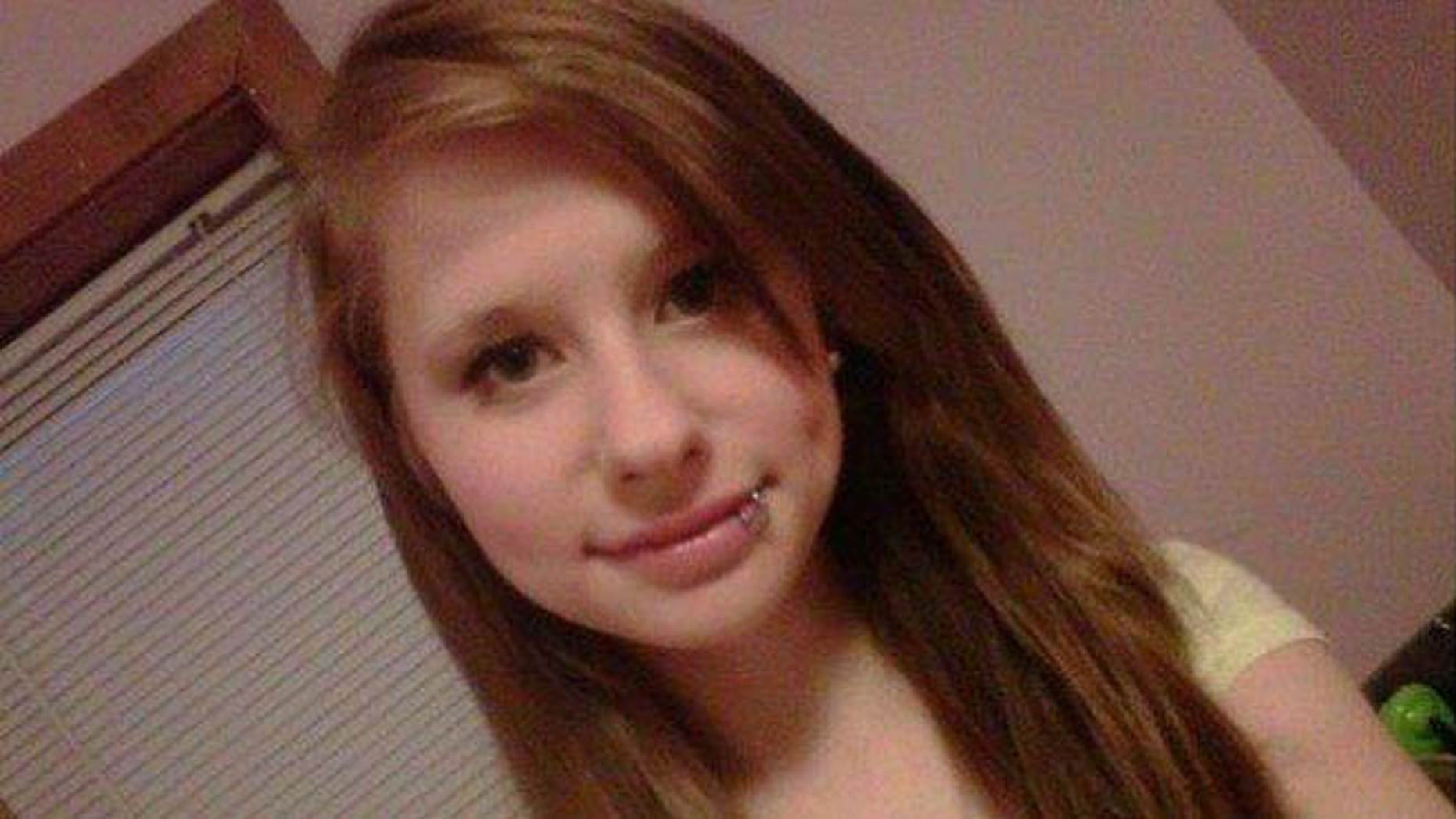 This undated photo provided by the Penobscot County Sheriffs Department shows Nichole Cable, a 15-year-old girl who was last seen over the weekend outside her Glenburn, Maine home. Officials said Friday that they want anyone who may have seen a black Ford Ranger pickup or similar truck near Nichole Cable's home between 8 p.m. Sunday and 2 a.m. Monday to contact police.