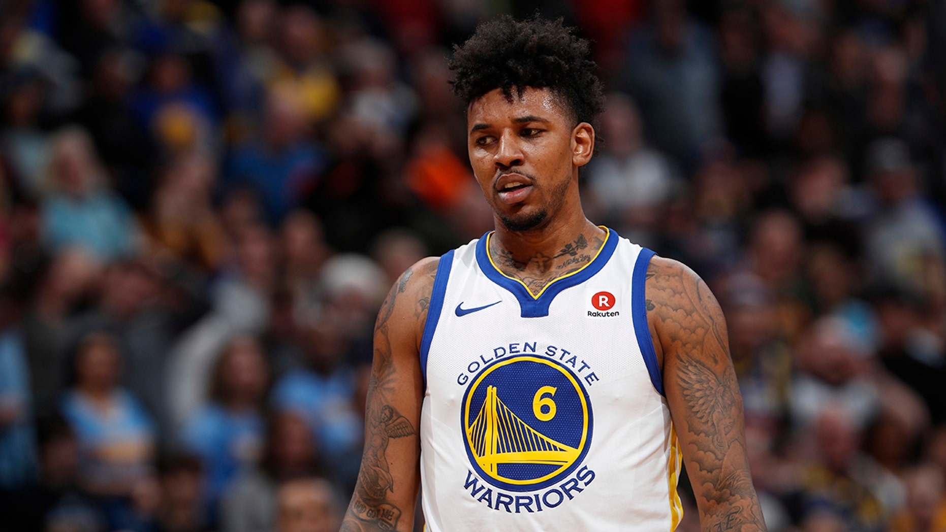 Nick Young joked cocaine should be legalized after he was told that Canada had legalized recreational marijuana use.