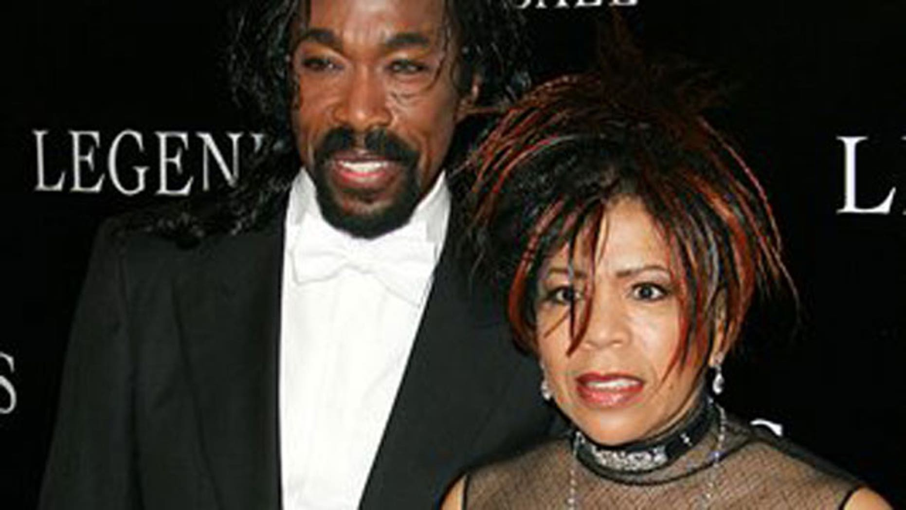 In this May 14, 2005 file photo, Nick Ashford and Valerie Simpson arrive at the Legends Ball in Santa Barbara, Calif. (AP)