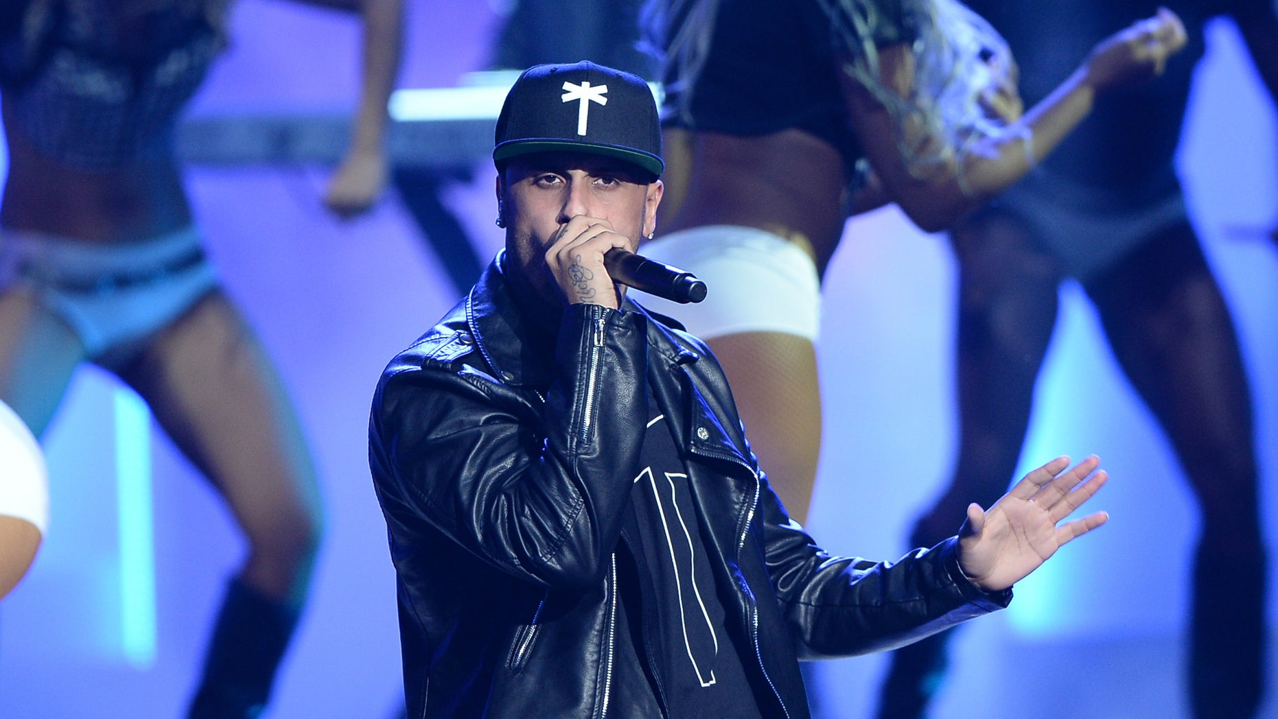 "Nicky Jam at Telemundo's ""Premios Tu Mundo"" on August 20, 2015 in Miami, Florida."