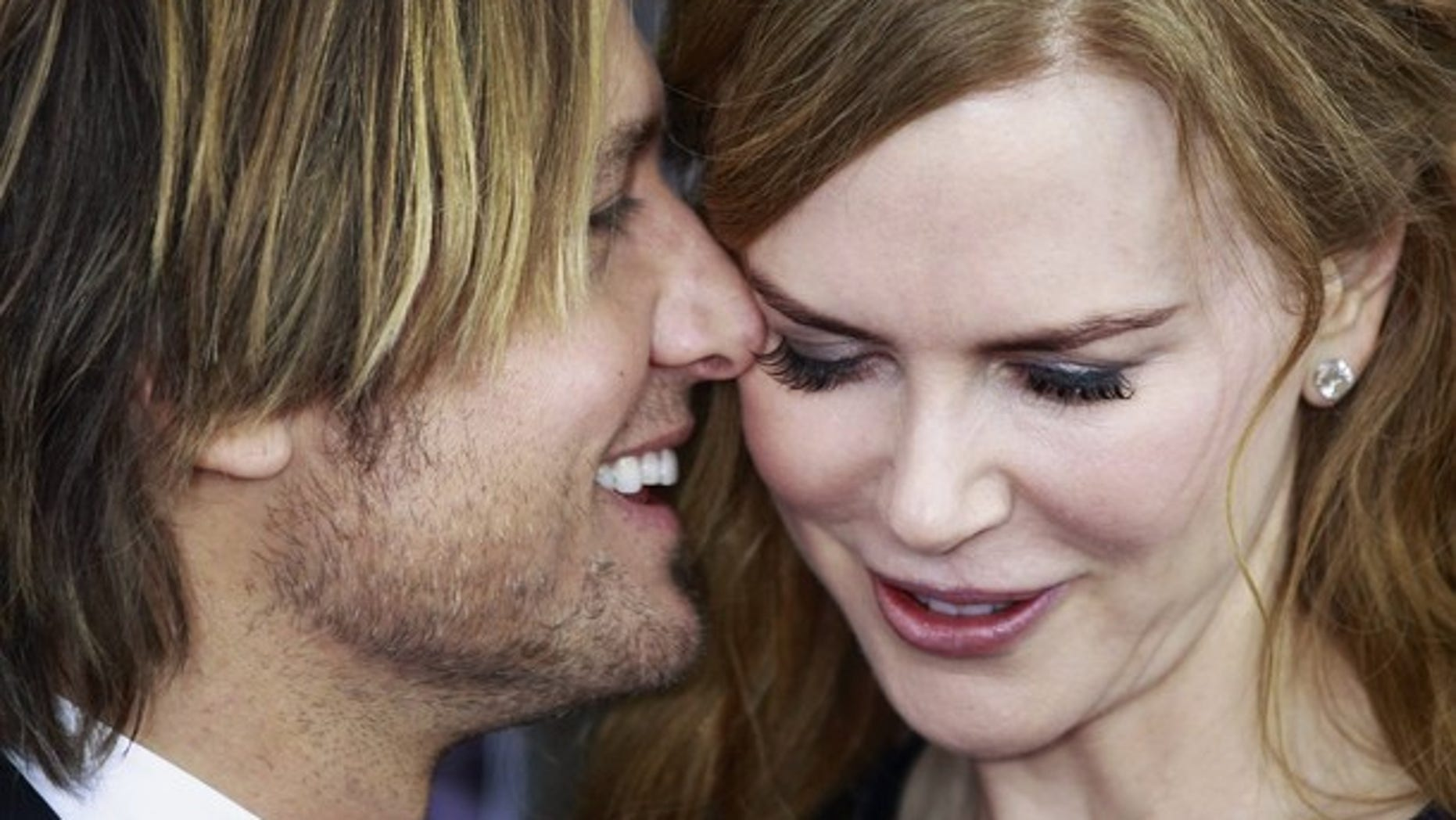 """Dec. 2: Keith Urban and wife Nicole Kidman at the premiere of her film """"The Rabbit Hole."""""""