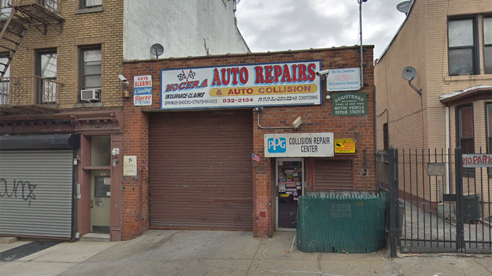 The owner of Nocera Auto Repairs in New York City said UPS offered to compensate him for two packages that were left in a dumpster by a delivery driver.