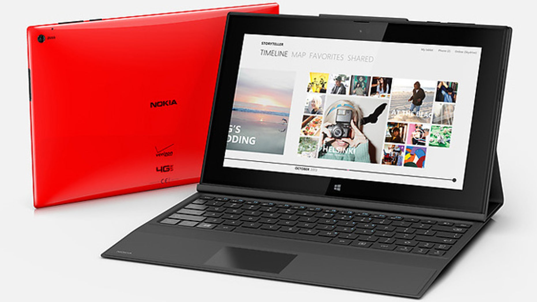 The new Nokia Lumia 2520. All versions of the 2520 will come with built-in 4G LTE cellular access. By contrast, iPads and most other tablets make cellular access optional, with their cheapest models capable of using Wi-Fi only for Internet access.