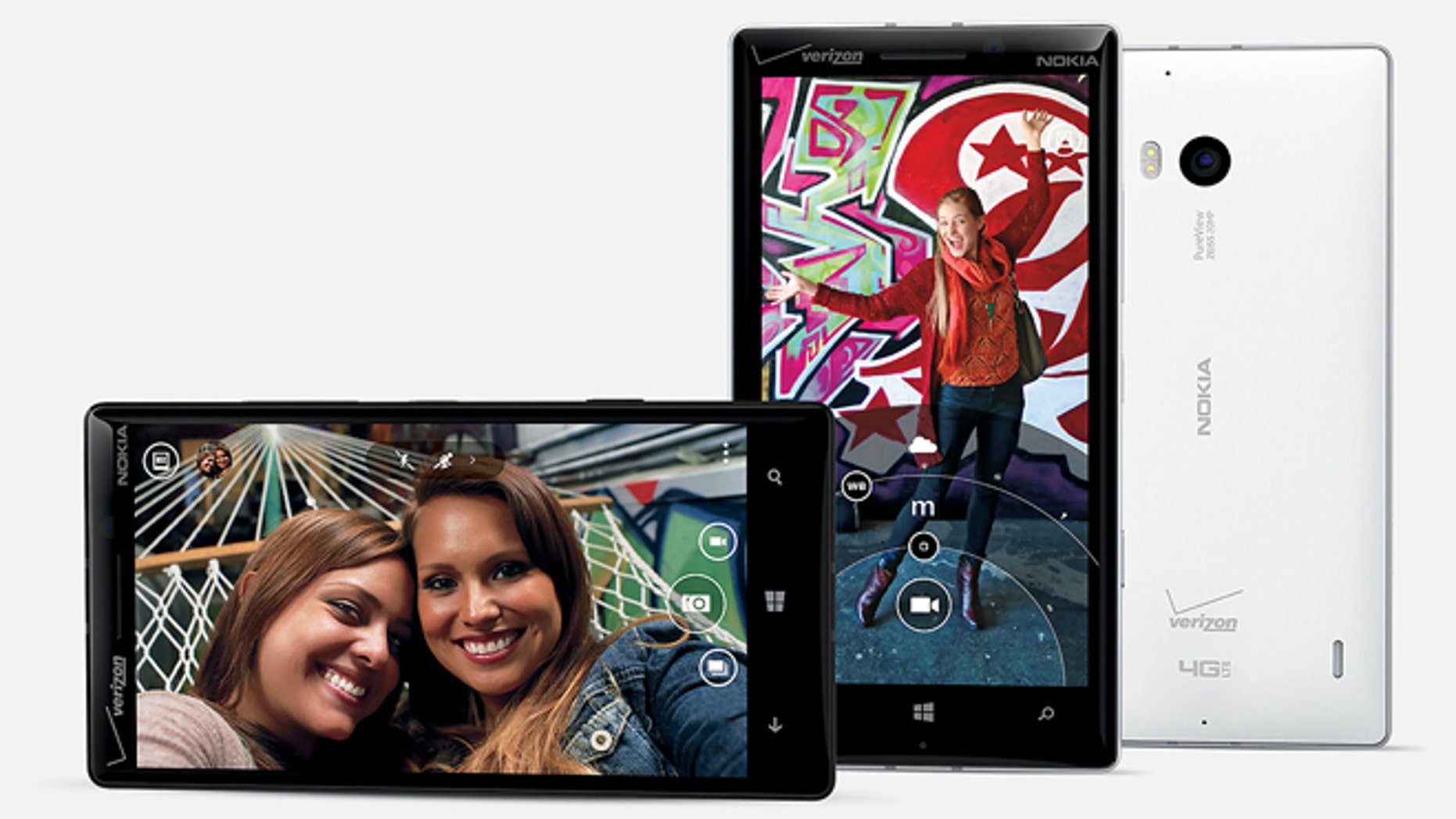 The new Nokia Lumia Icon smartphone.