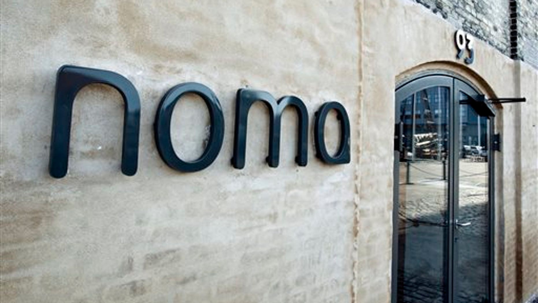 FILE – This is a March 14, 2012  file photo of Danish restaurant Noma in Copenhagen. Noma in Copenhagen, Denmark won the title of world's top restaurant. Noma held the No. 1 spot on Restaurant magazine's annual ranking of the world's 50 best restaurants for three years before being bested in 2013 by avant-garde eatery El Celler de Can Roca in Girona, Spain. During a ceremony Monday in London, Noma reclaimed the top spot while El Celler fell to No. 2. (AP Photo/POLFOTO, Jens Dresling, file)  DENMARK OUT.