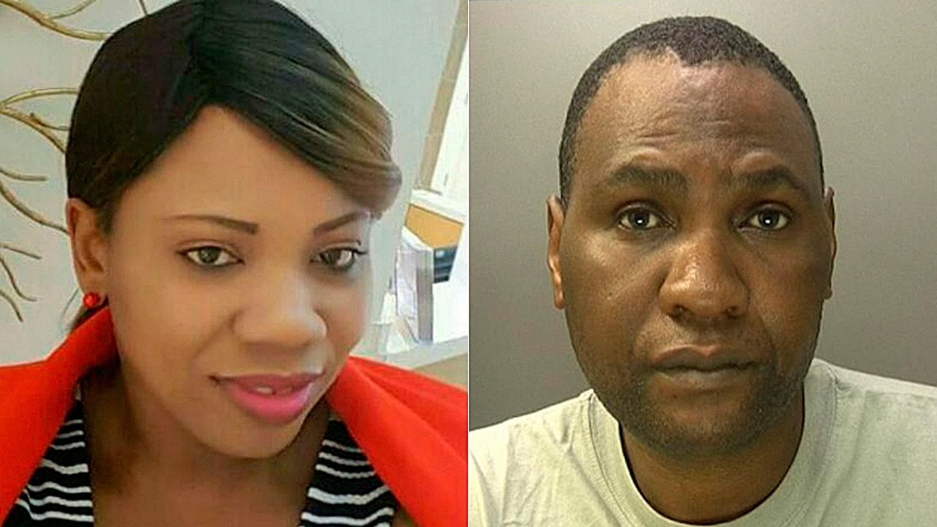 Norbert Chikerema was found guilty of killing his 35-year-old wife Nyasha Kahari on Monday.