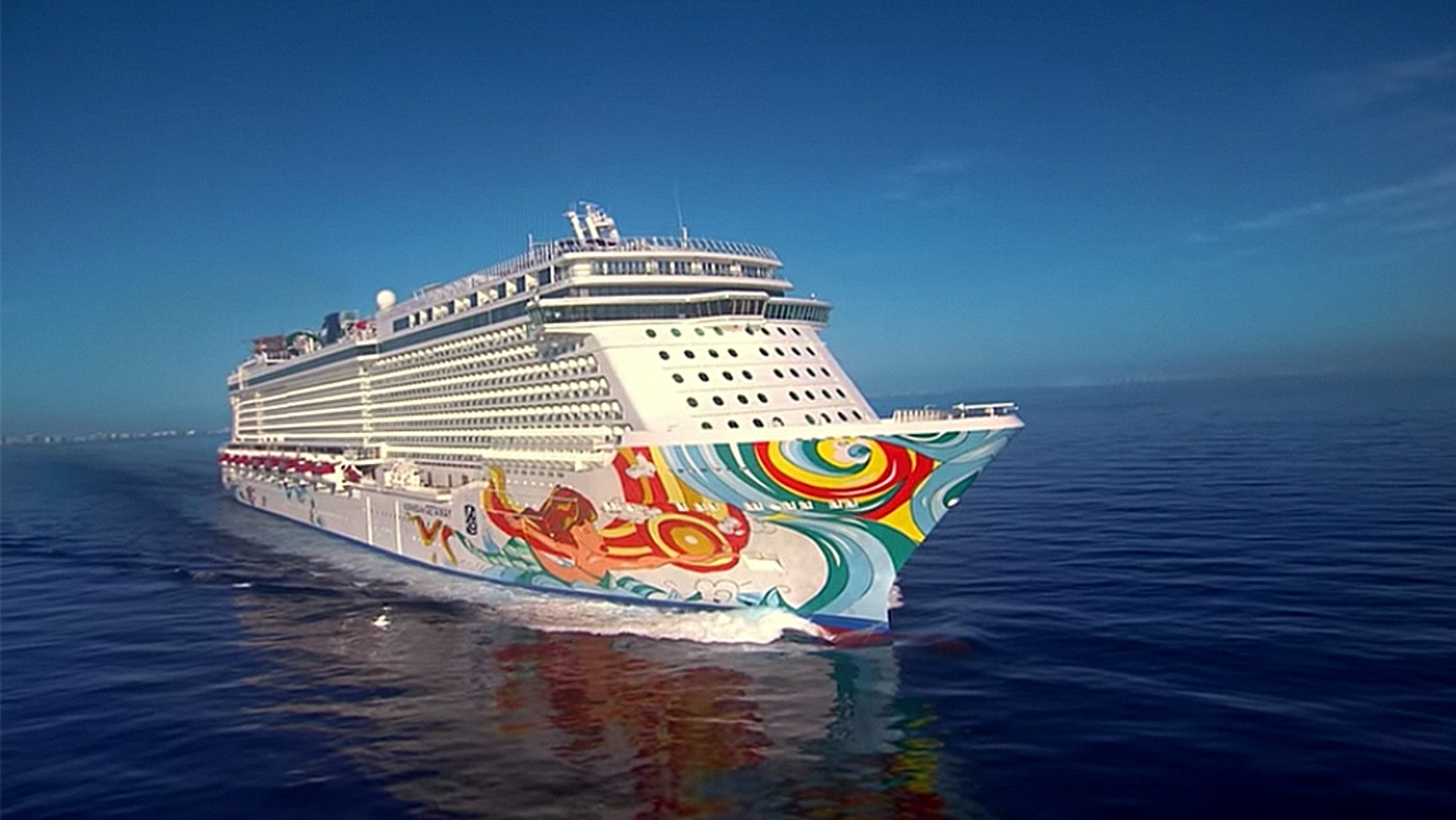 A Norwegian Cruise Line crew member went overboard near Cuba and was rescued 22 hours later by a Carnival Cruise.
