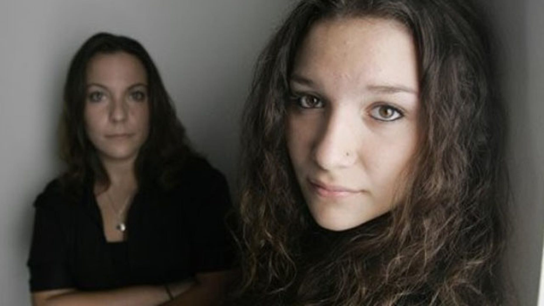 Sept. 15, 2010: Nikki Iacono, left, and her daughter Ariana Iacono, 14, in Clayton, N.C.