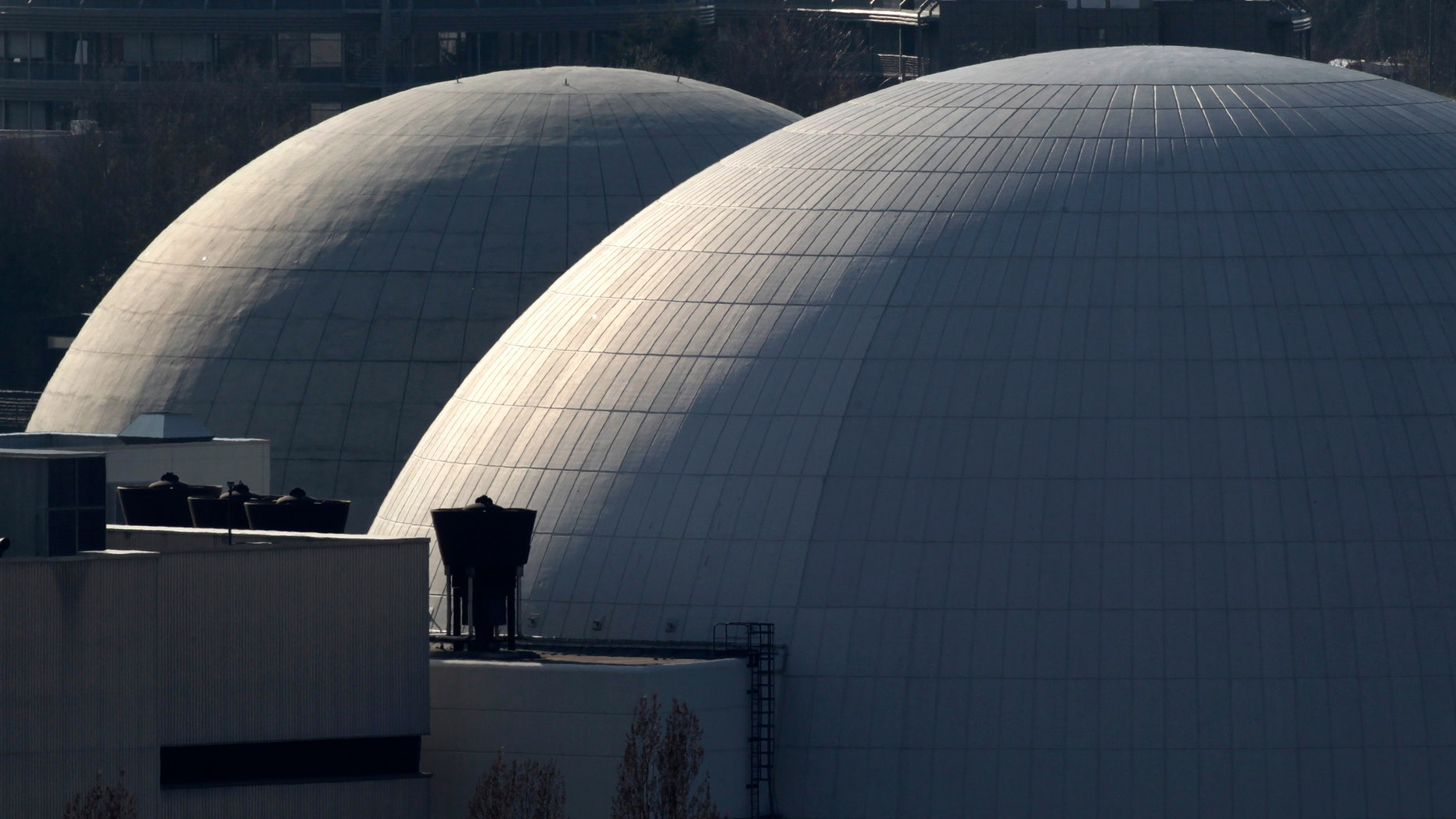 March 15: The 35-year-old nuclear plant of Neckarwestheim, Germany, is pictured. German Chancellor Angela Merkel announced seven of the country's reactors that went into operation before the end of 1980 will temporarily go offline.