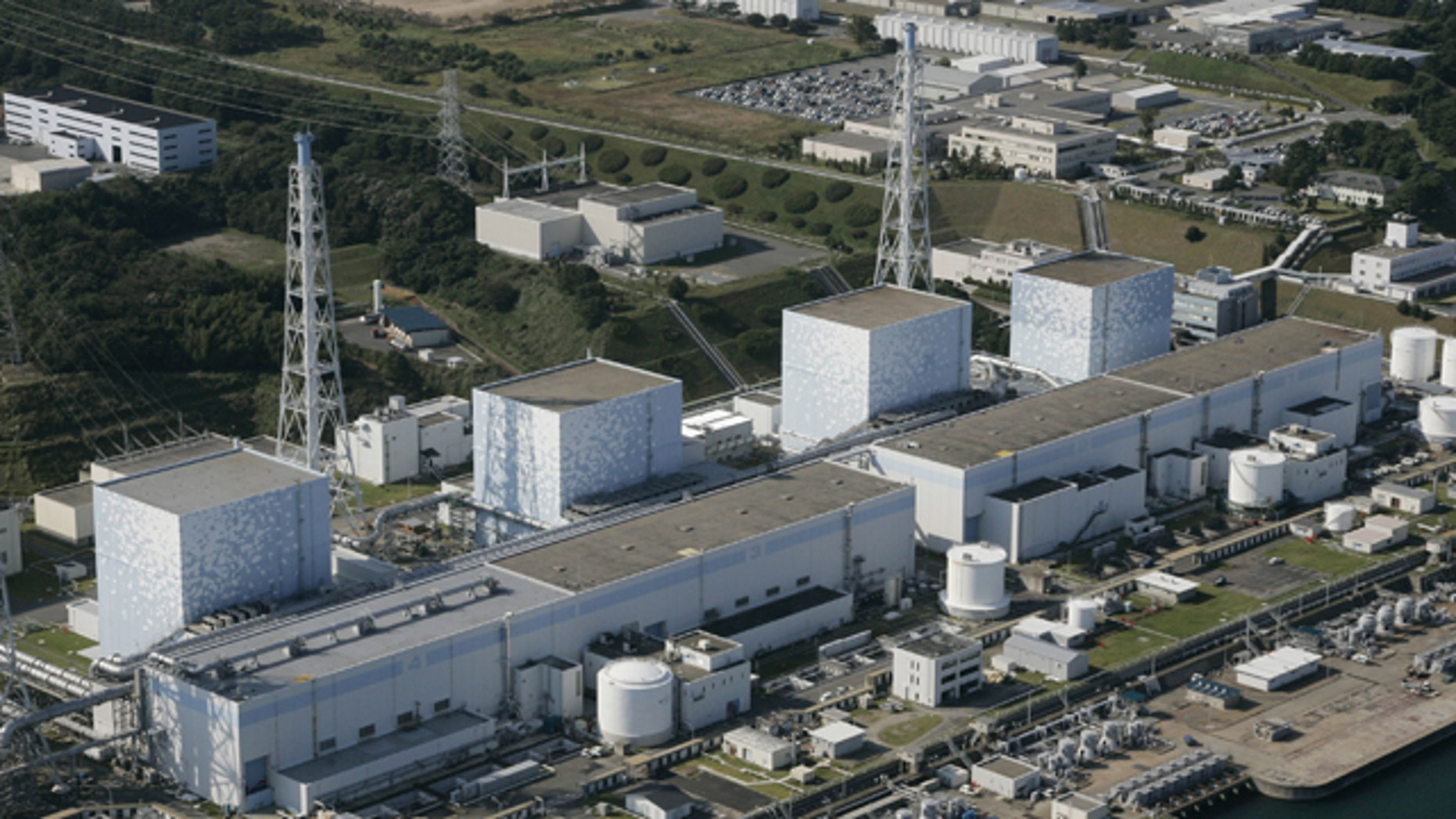 This file photo shows the Fukushima Daiichi power plant, which had its cooling system fail Friday after a massive earthquake caused a power outage