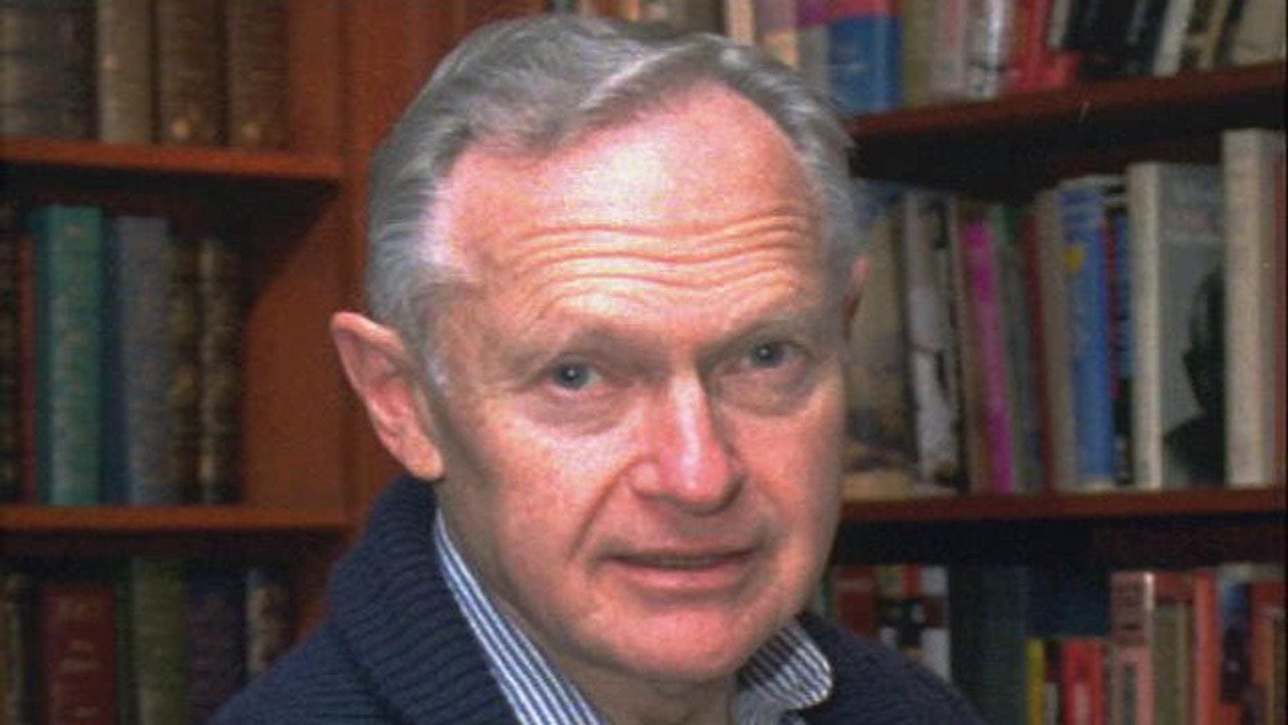Dr. Sherwin Nuland, author of the best-selling book 'How We Die,' in 1996. Nuland died March 4, 2014 at his home in Hamden, Conn. at age 83. (AP)