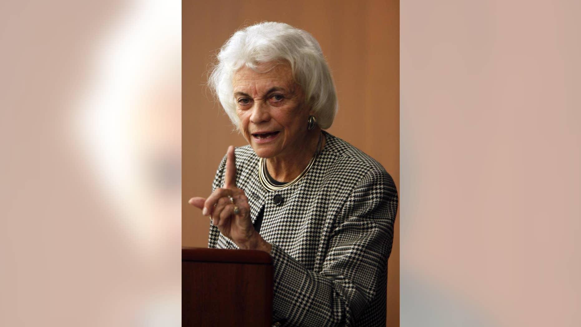 Former Supreme Court Justice Sandra Day O'Connor (AP Photo/Mary Altaffer)