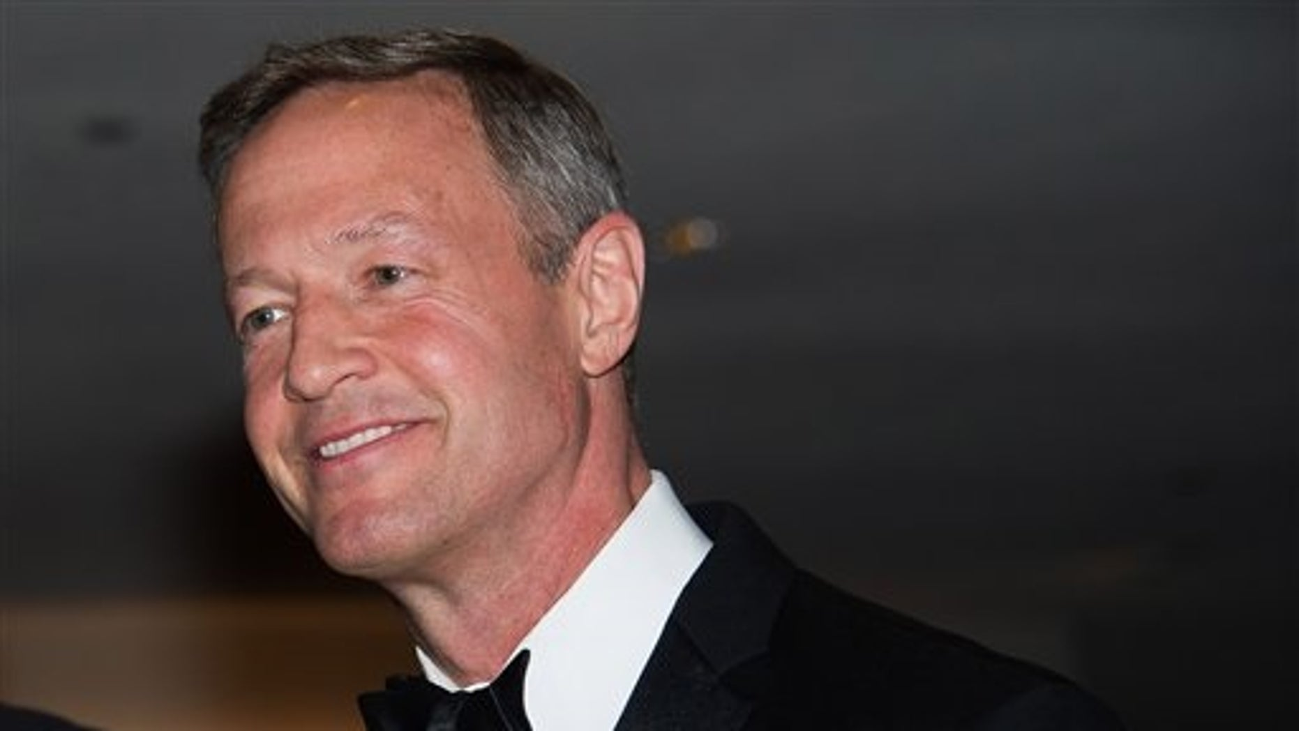 Martin O'Malley attends the 2015 White House Correspondents' Association Dinner at the Washington Hilton Hotel on Saturday, April 25, 2015, in Washington. (Photo by Charles Sykes/Invision/AP)