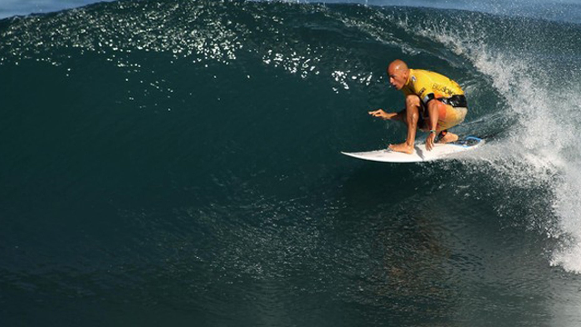 Dec. 15, 2012: ASP World Surfing Champion Kelly Slater of the U.S. competes during the 2010 Billabong Pipeline Masters at the Banzai Pipeline in Oahu, Hawaii.