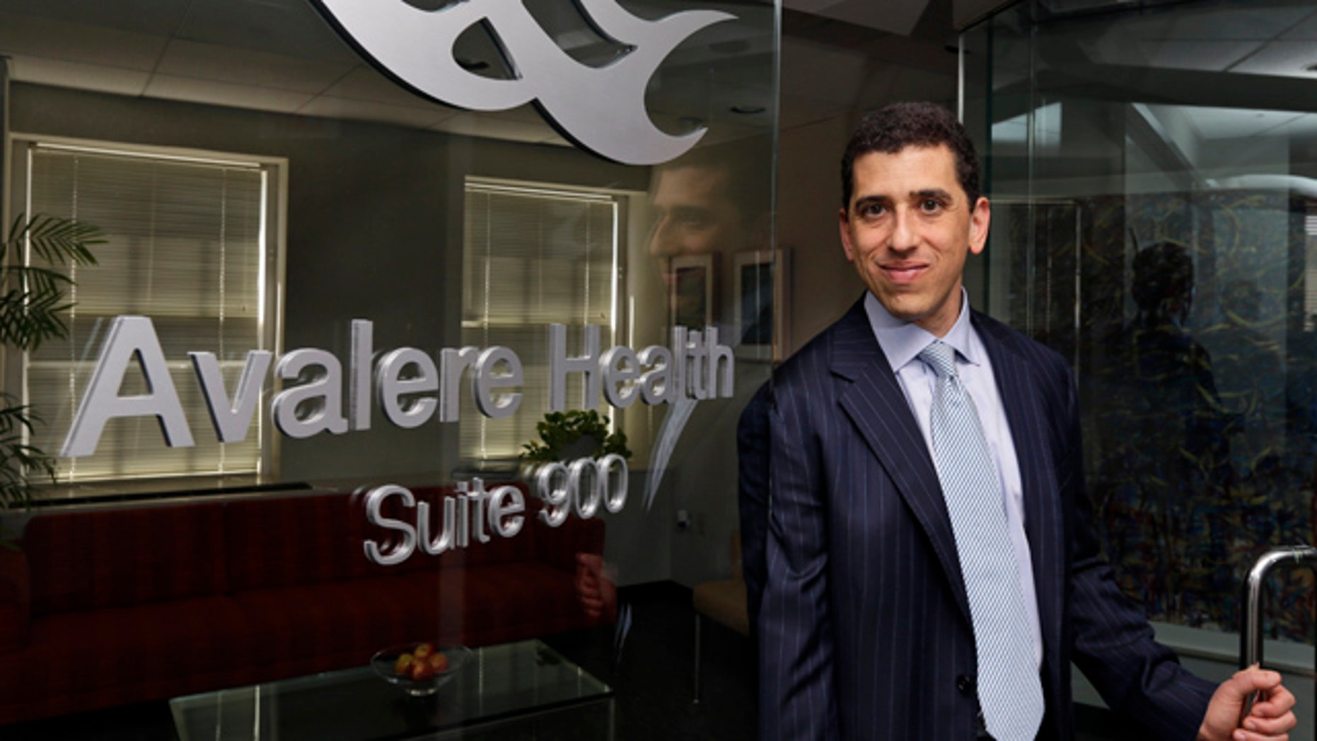 May 3, 2013: Daniel N. Mendelson, CEO of data analysis firm Avalere Health, which caters to the healthcare industry and government, poses for a photograph at their Washington office.