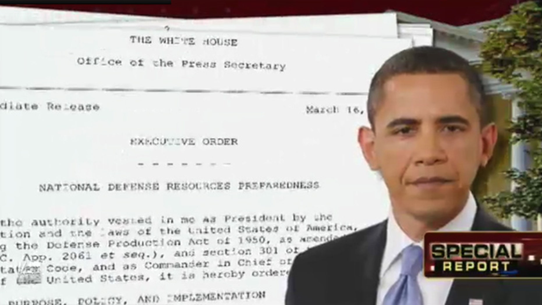 Obama Raises Eyebrows With Executive Order Revising Authority To